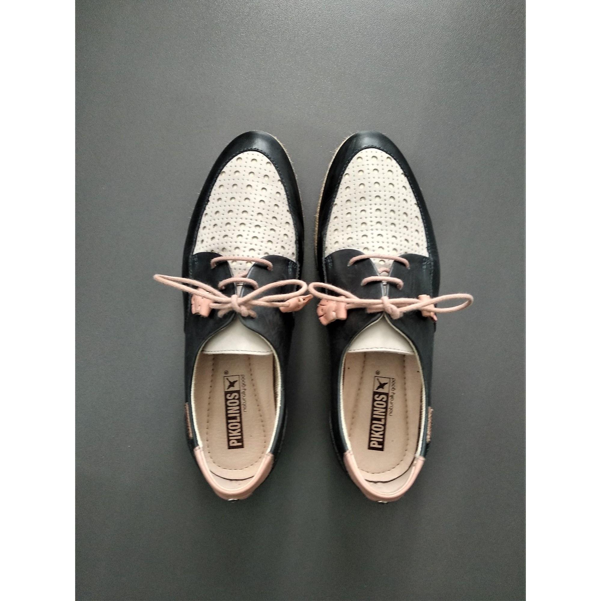 Chaussures à lacets  PIKOLINOS Bleu, bleu marine, bleu turquoise