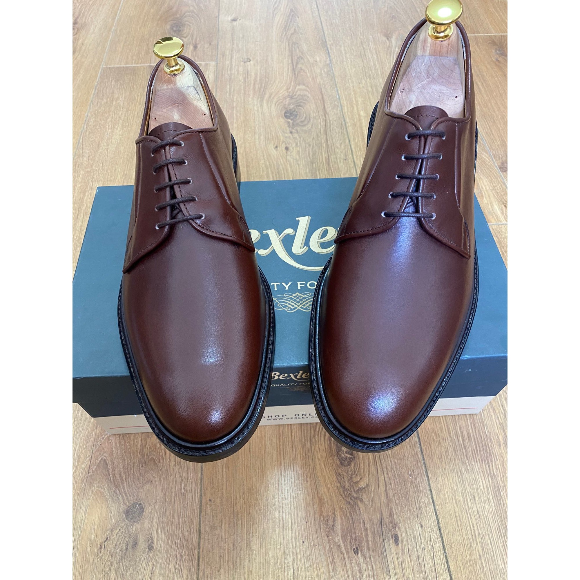 Lace Up Shoes BEXLEY Brown