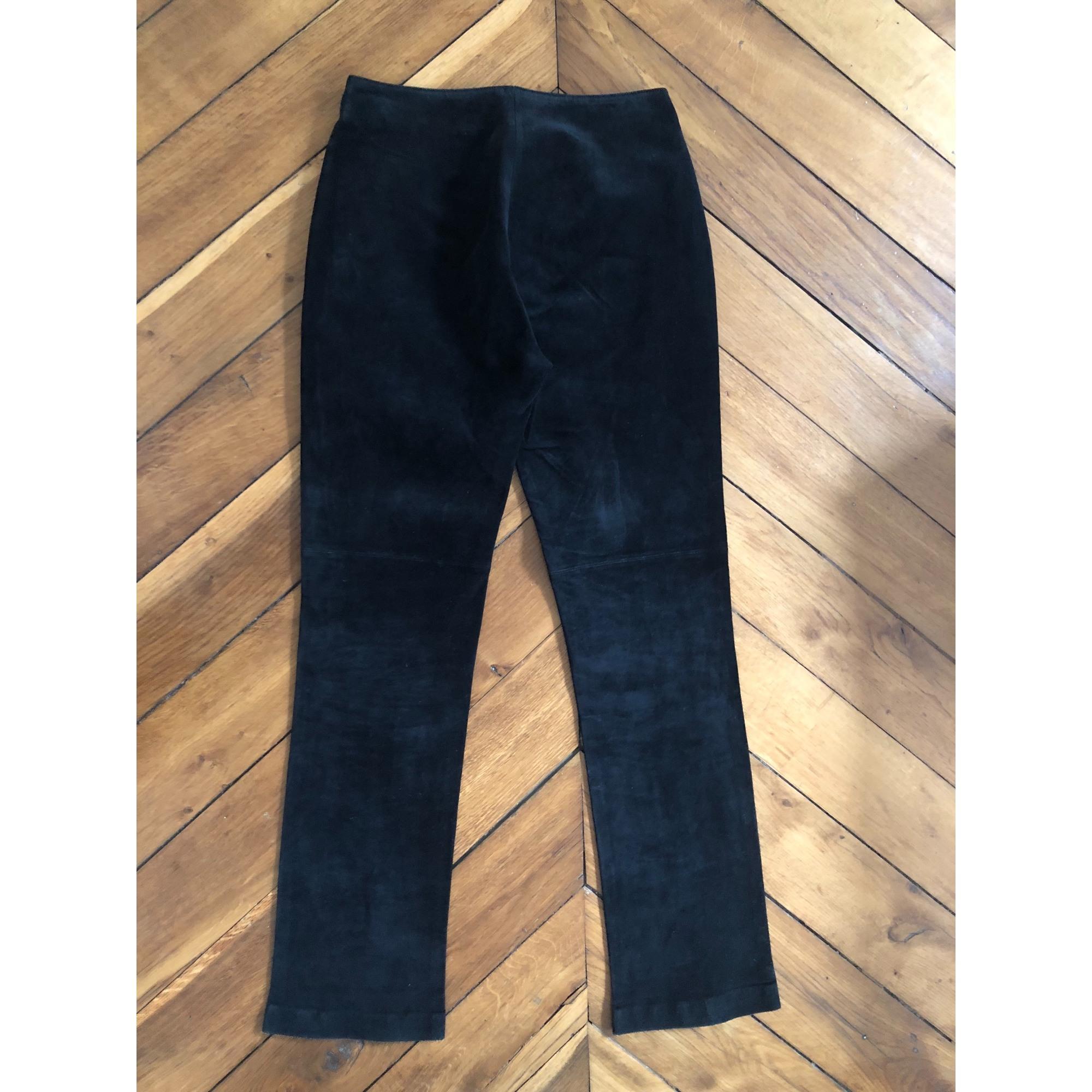 Pantalon droit 100% VINTAGE Noir