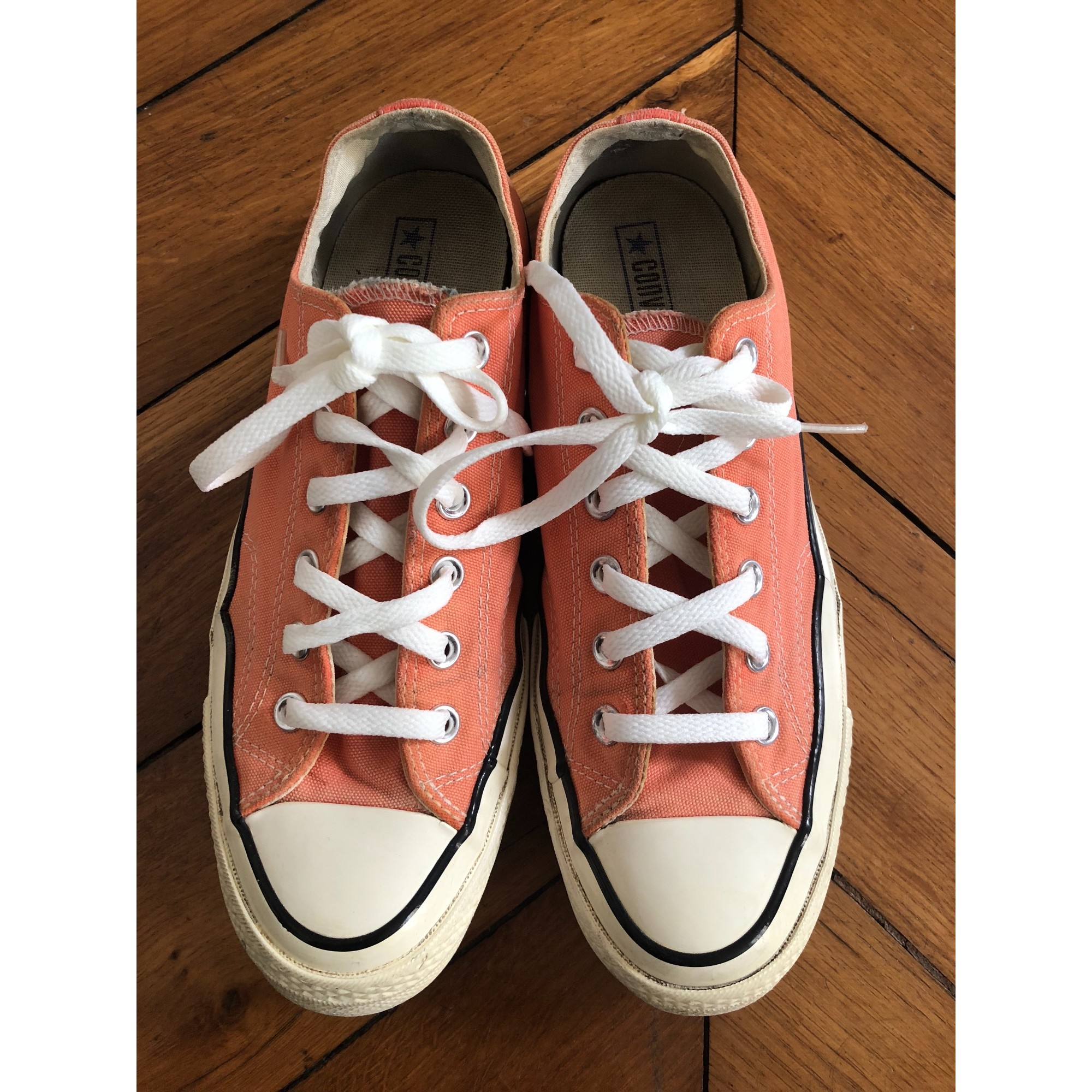 Baskets CONVERSE Orange
