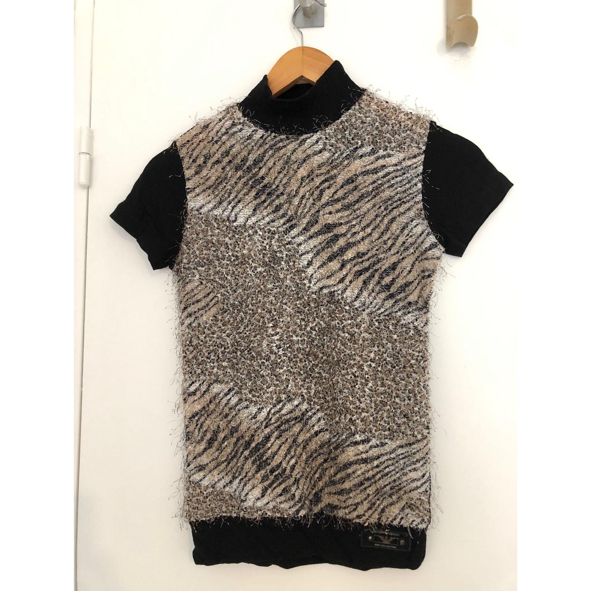 Top, tee-shirt EMPORIO ARMANI Imprimés animaliers