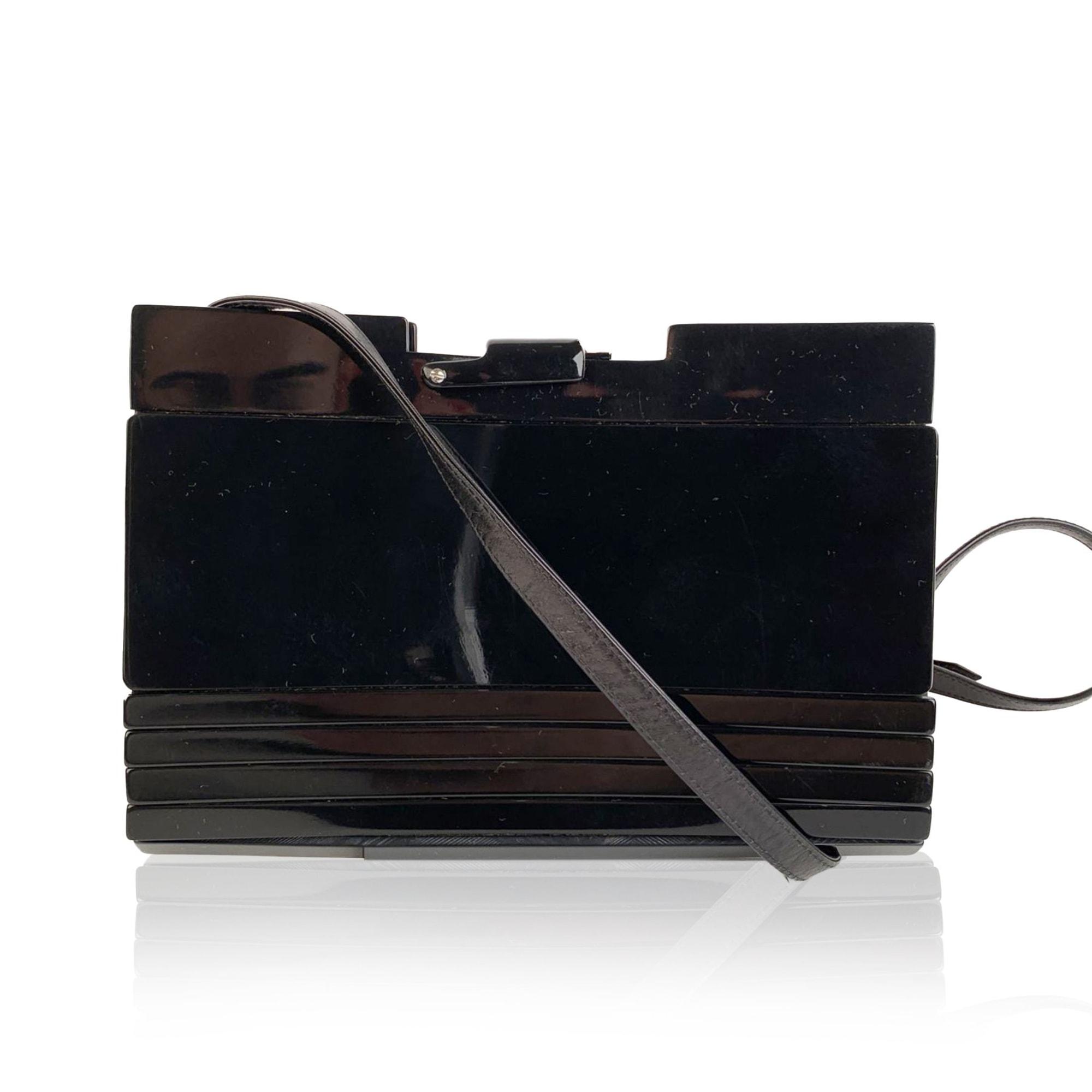 Handtasche Leder FENDI Schwarz