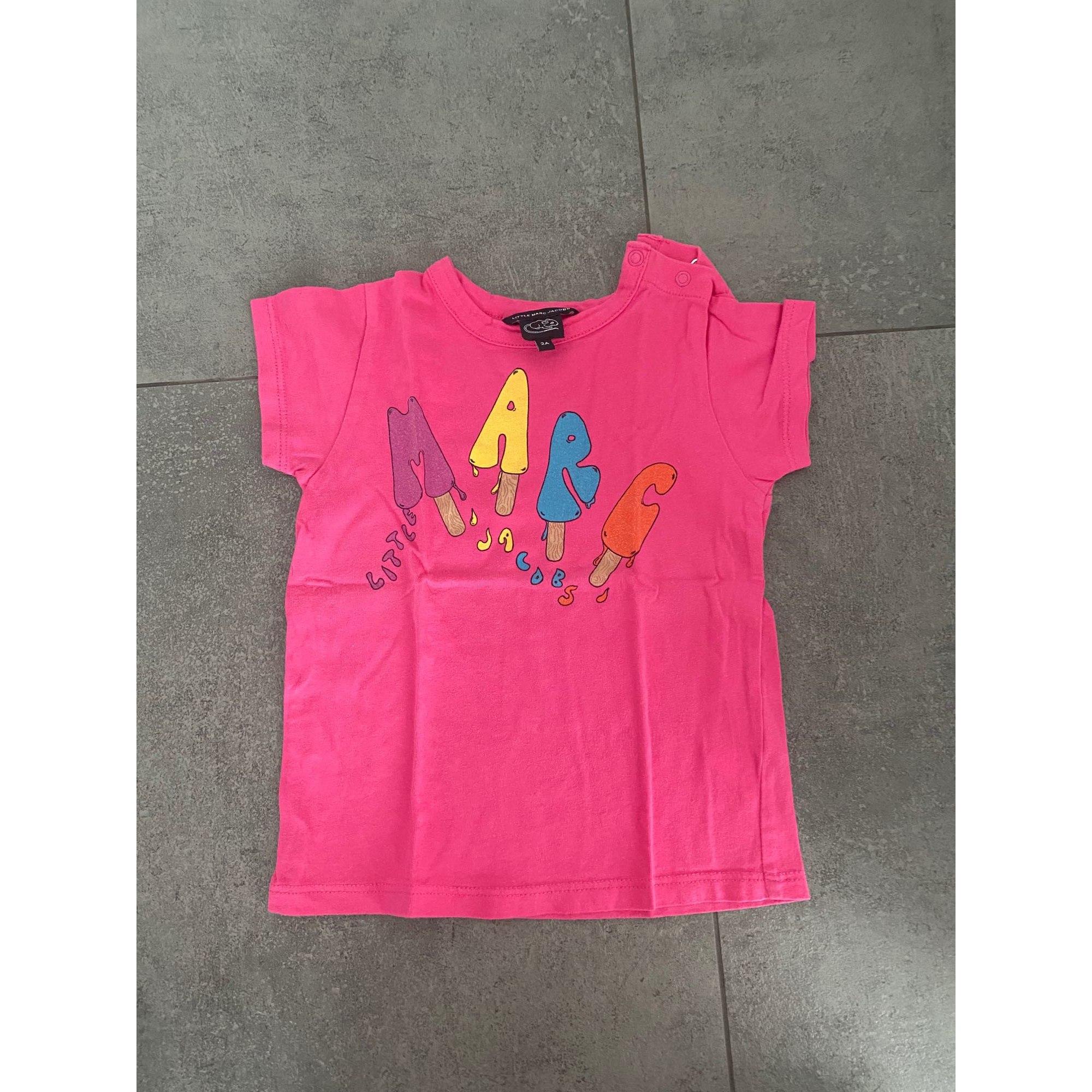 Top, tee shirt MARC JACOBS Rose, fuschia, vieux rose