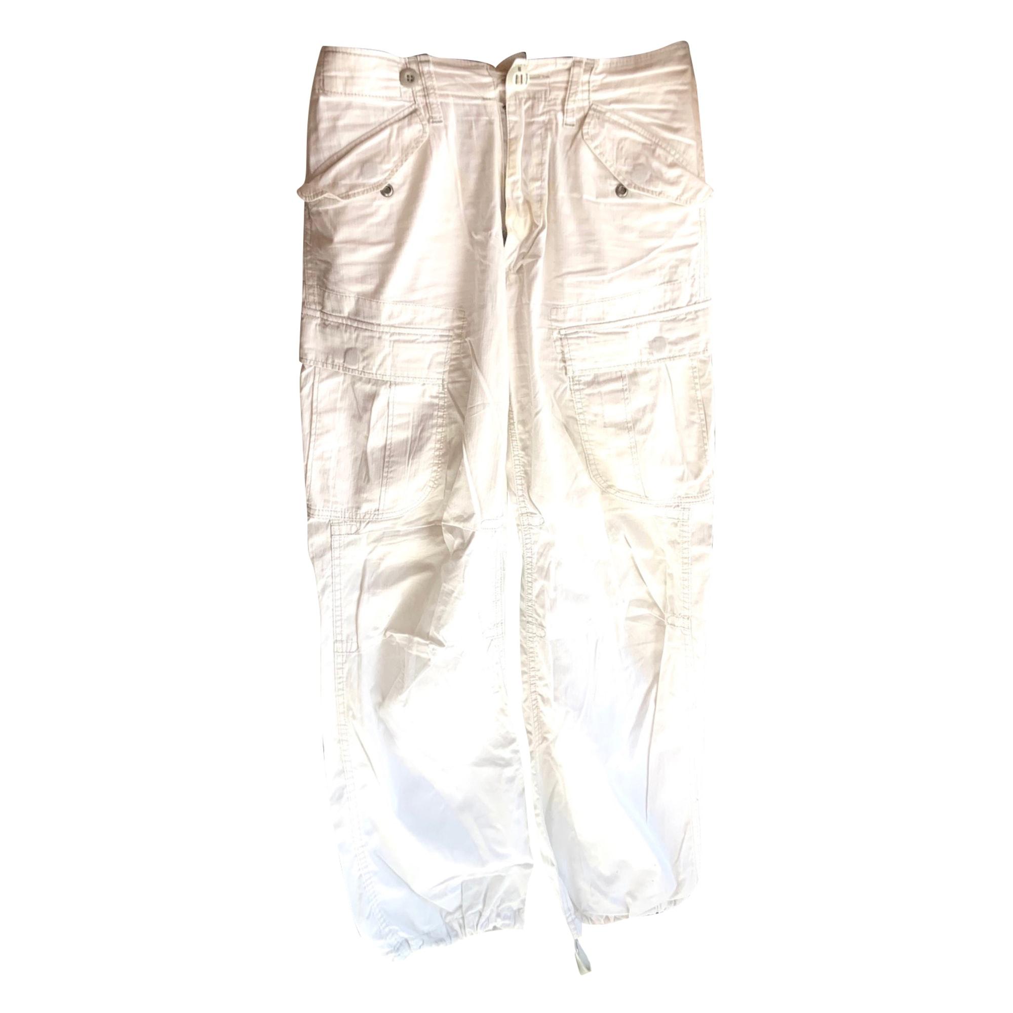 Pantalon large G-STAR Blanc, blanc cassé, écru