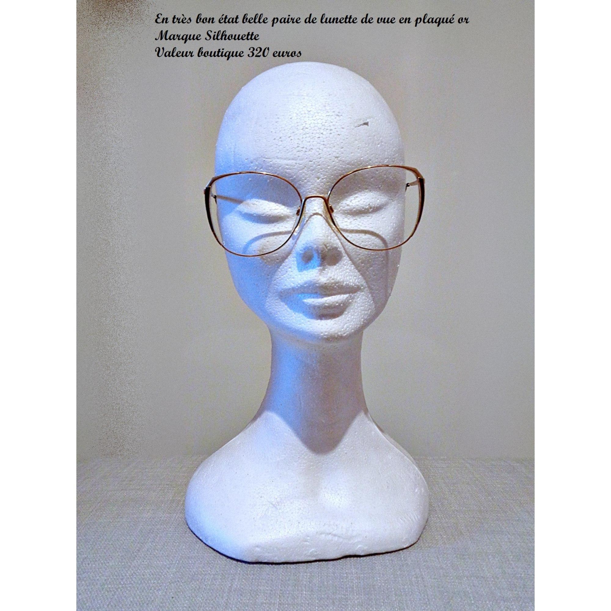 Monture de lunettes SILHOUETTE Doré, bronze, cuivre