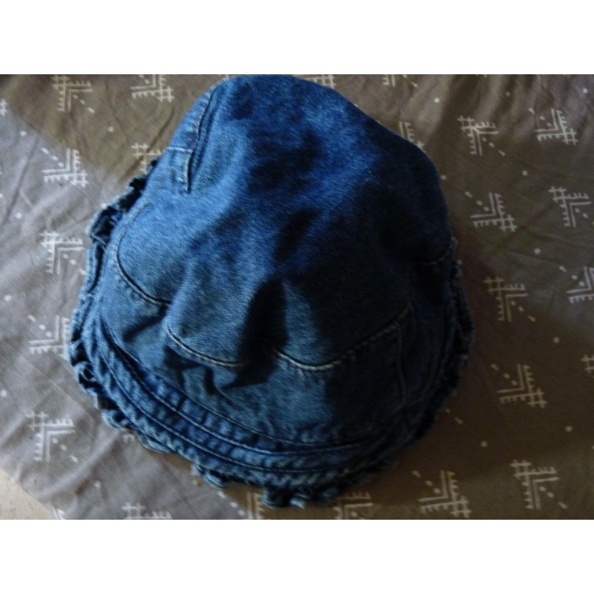 Chapeau VERTBAUDET Bleu, bleu marine, bleu turquoise