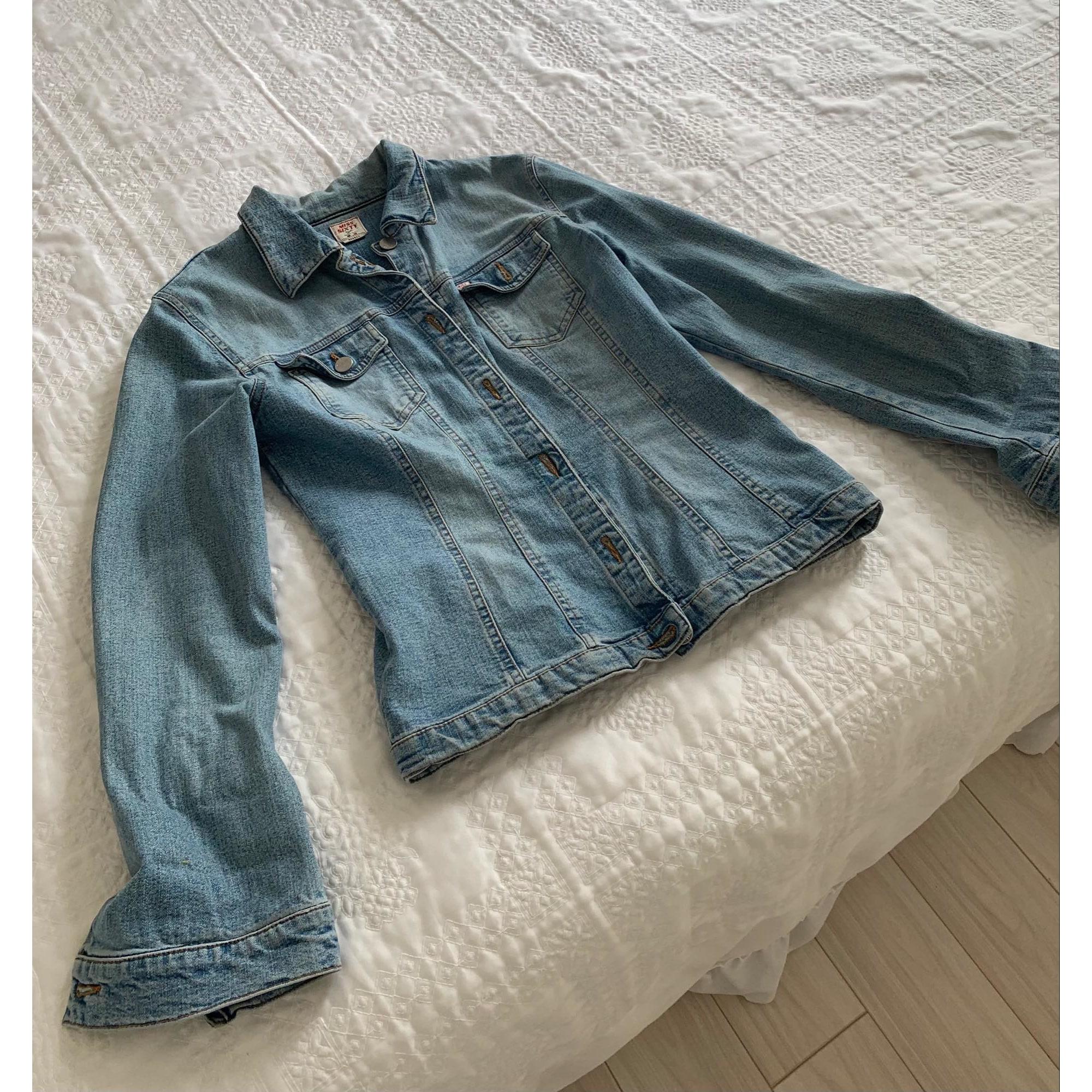 Blouson en jean MISS SIXTY Bleu, bleu marine, bleu turquoise