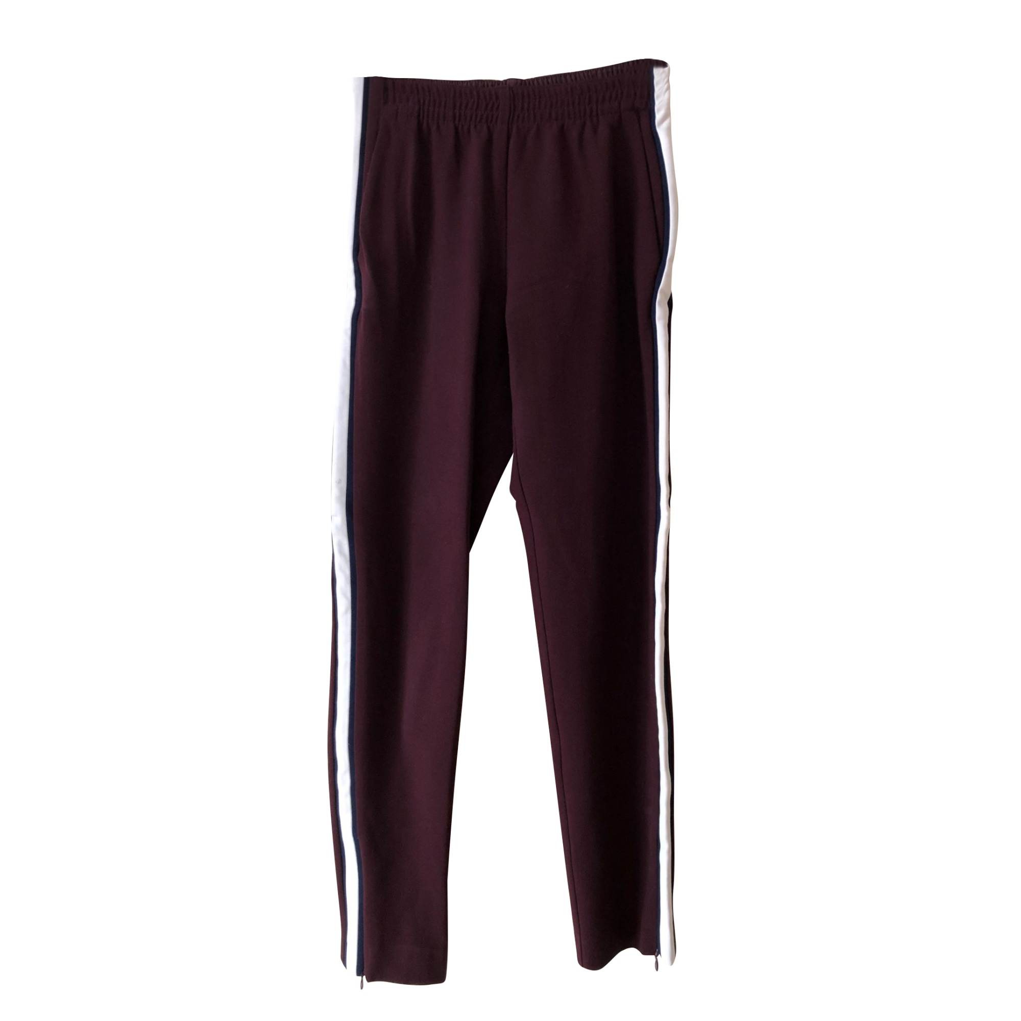 Pantalon droit MAJE multicouleur