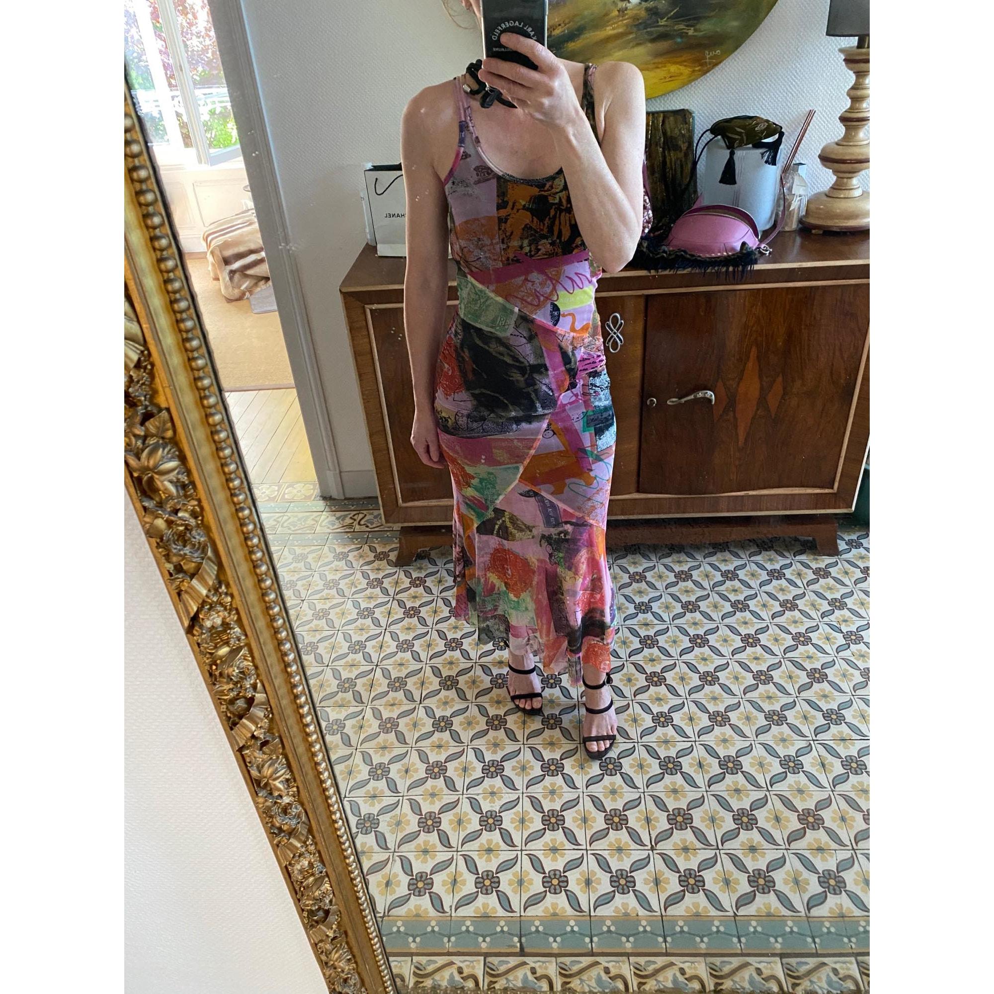Robe mi-longue GARELLA Multicouleur