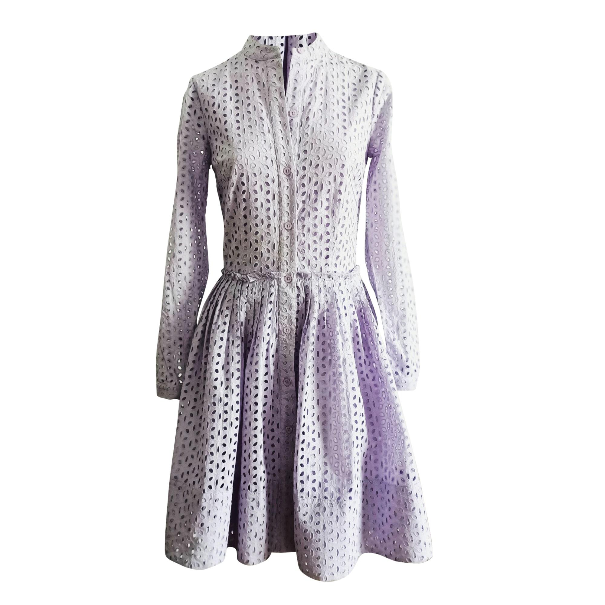 Robe mi-longue MICHAEL KORS Violet, mauve, lavande