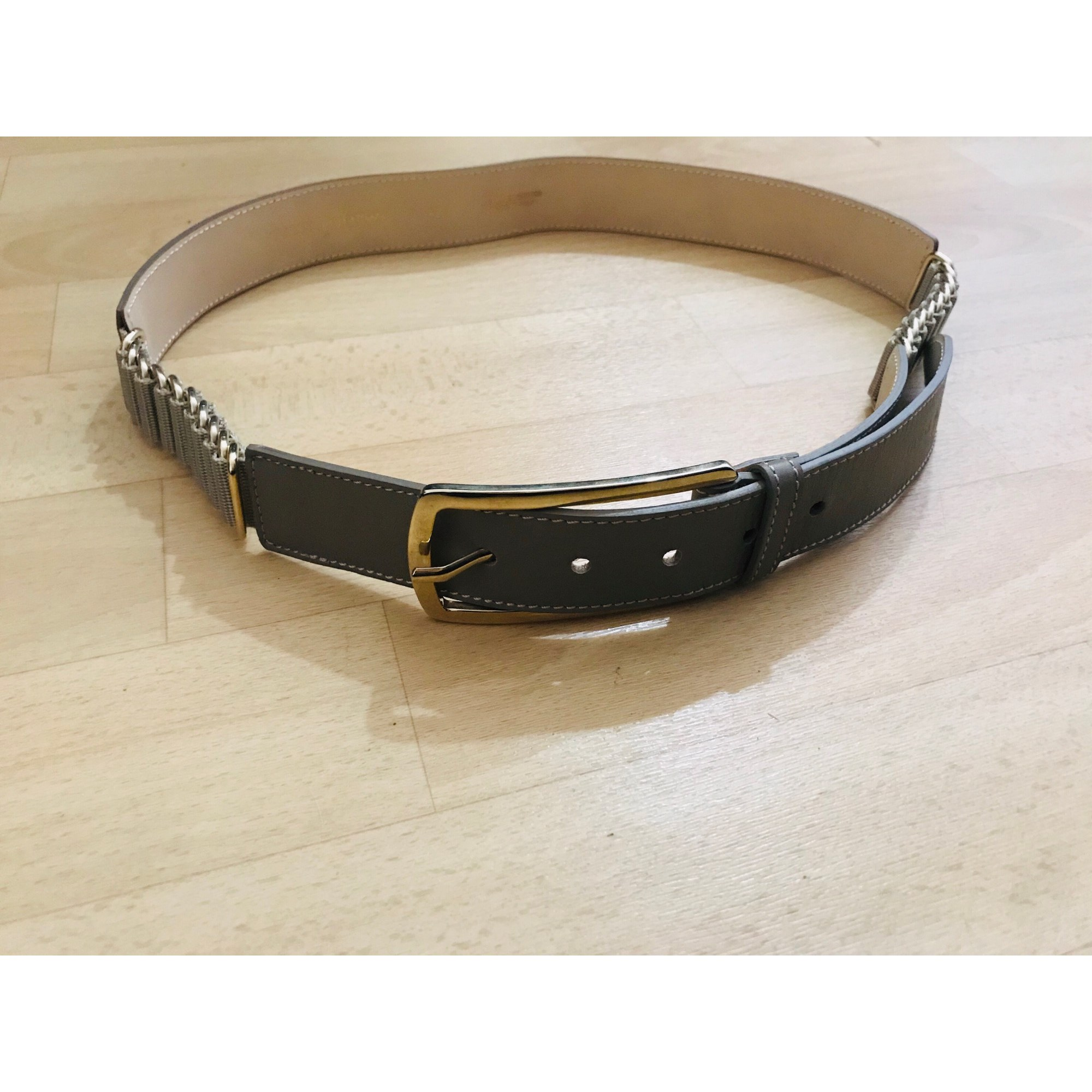 Ceinture large GUESS Gris, anthracite