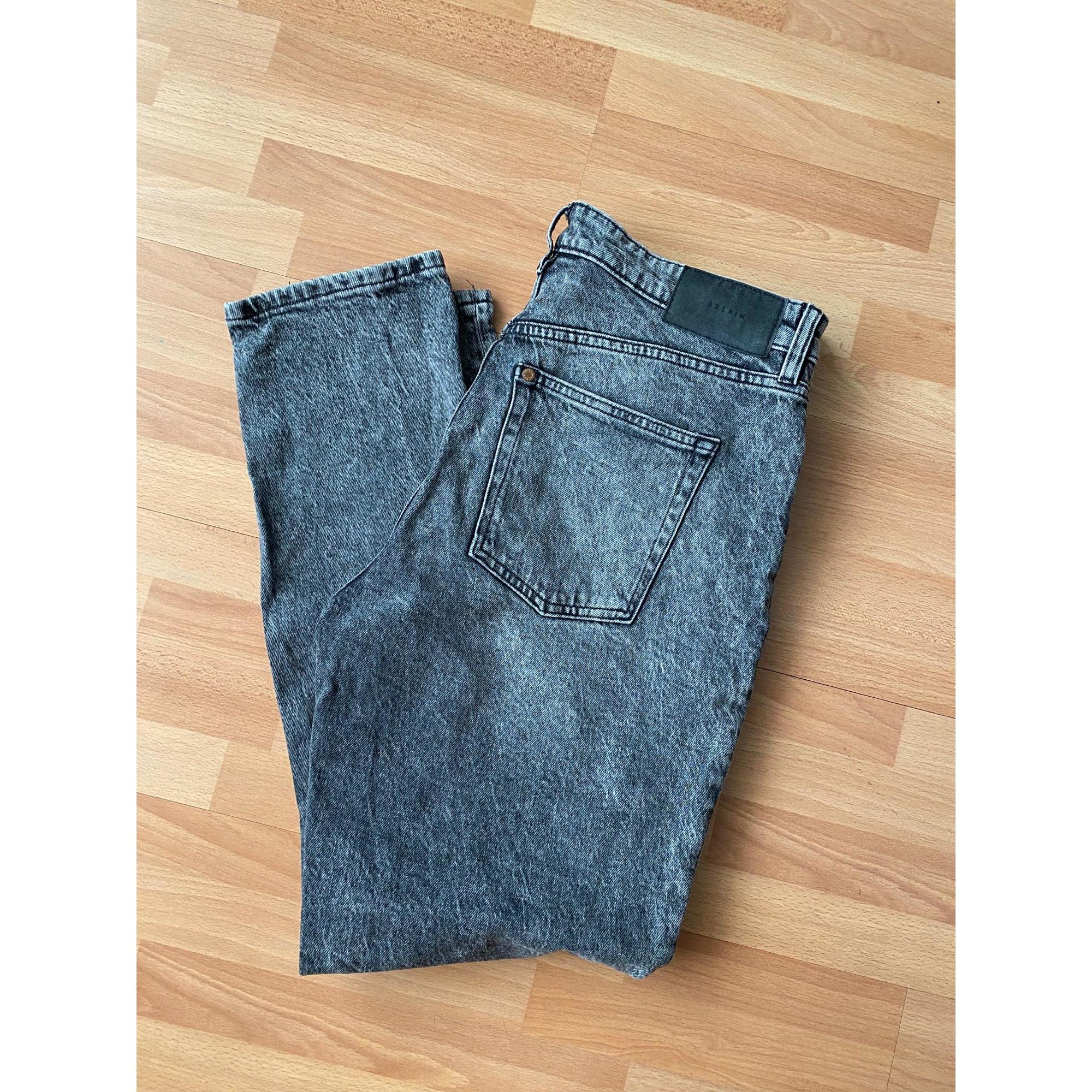 Jeans évasé, boot-cut H&M Noir