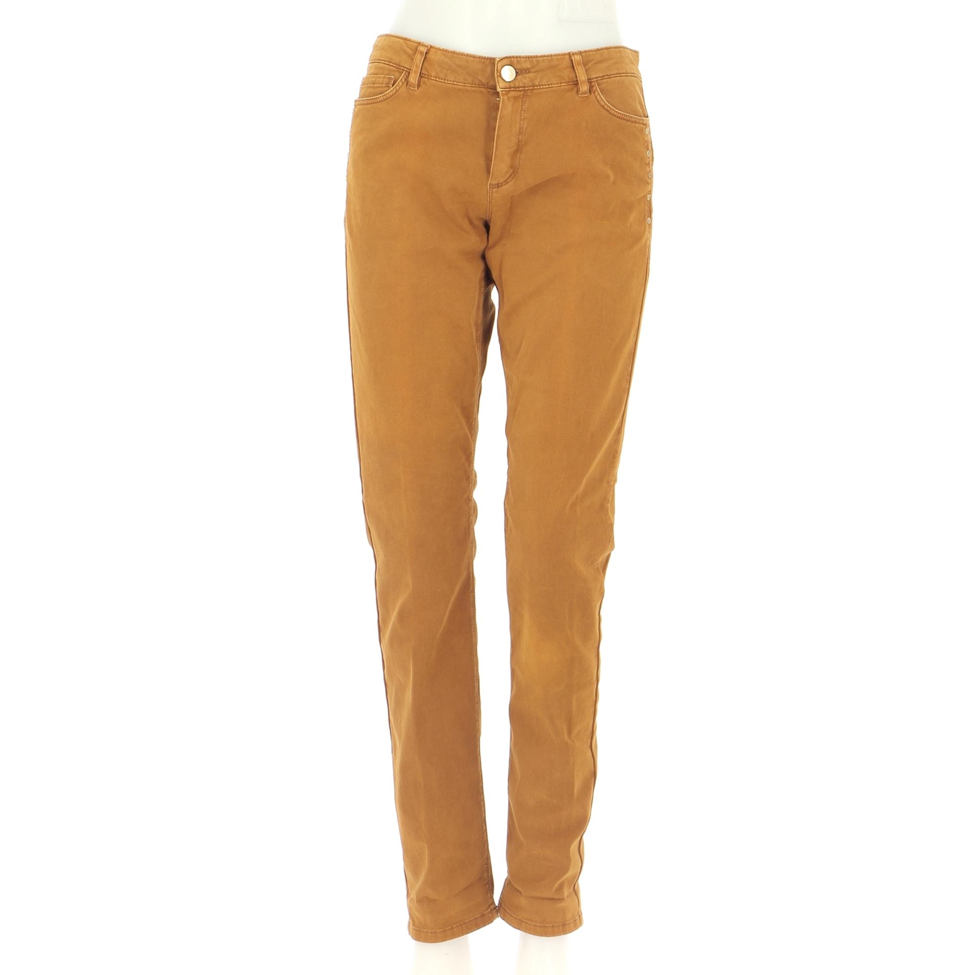 Pantalon droit ONE STEP Orange