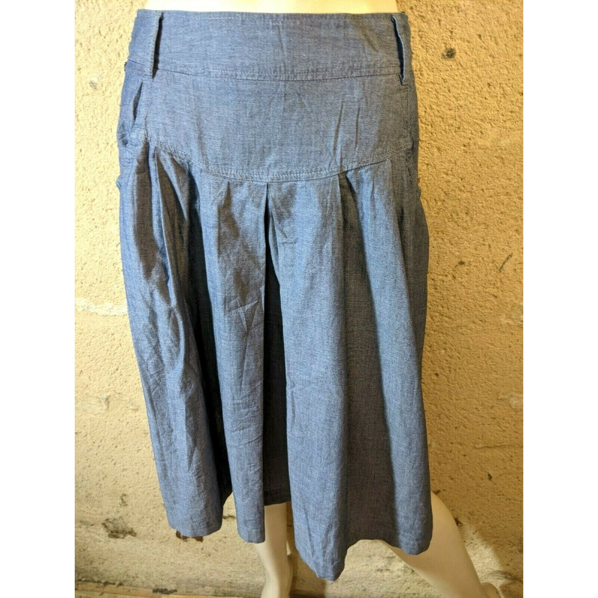 Jupe mi-longue NEW MAN Bleu, bleu marine, bleu turquoise