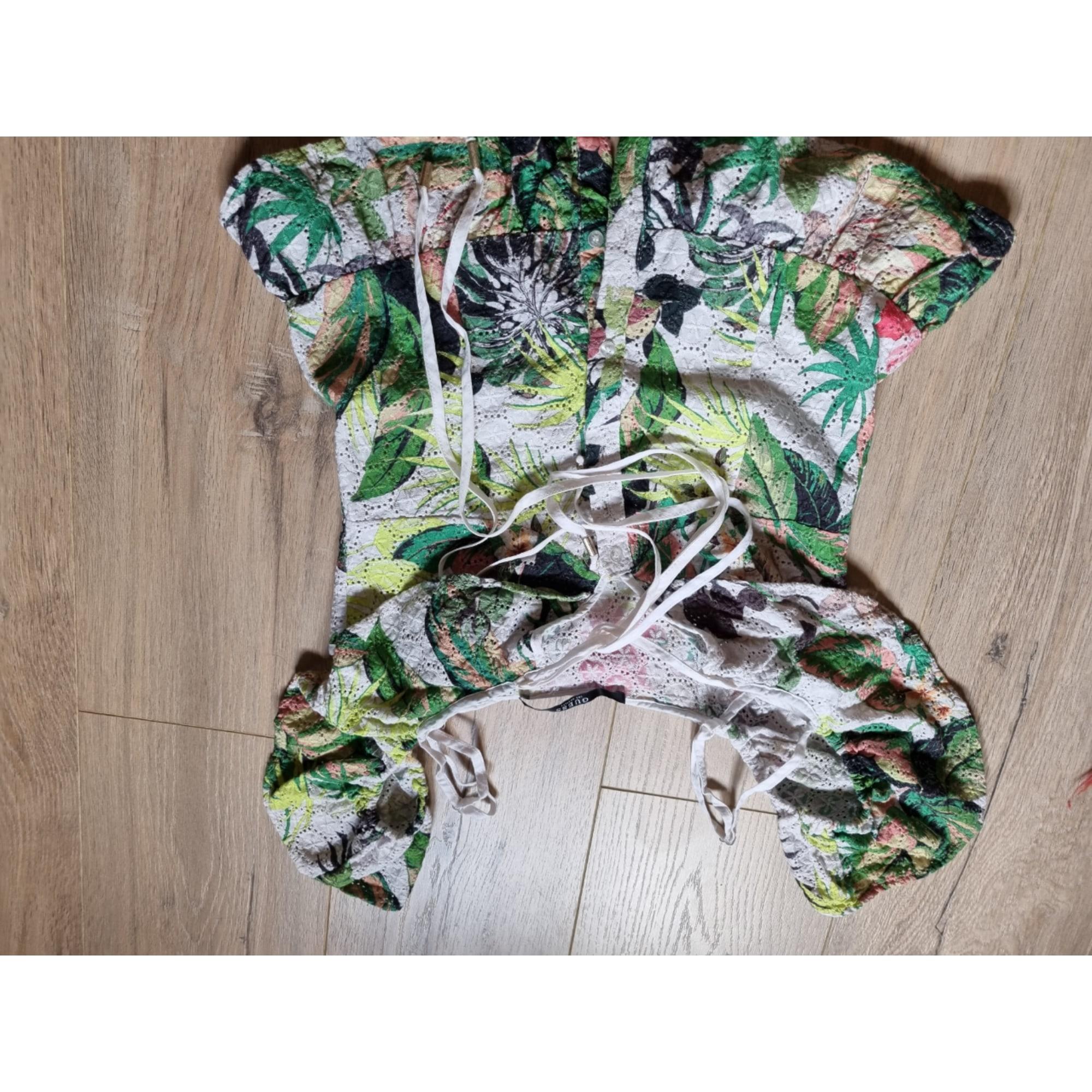 Top, tee-shirt GUESS Imprimés animaliers