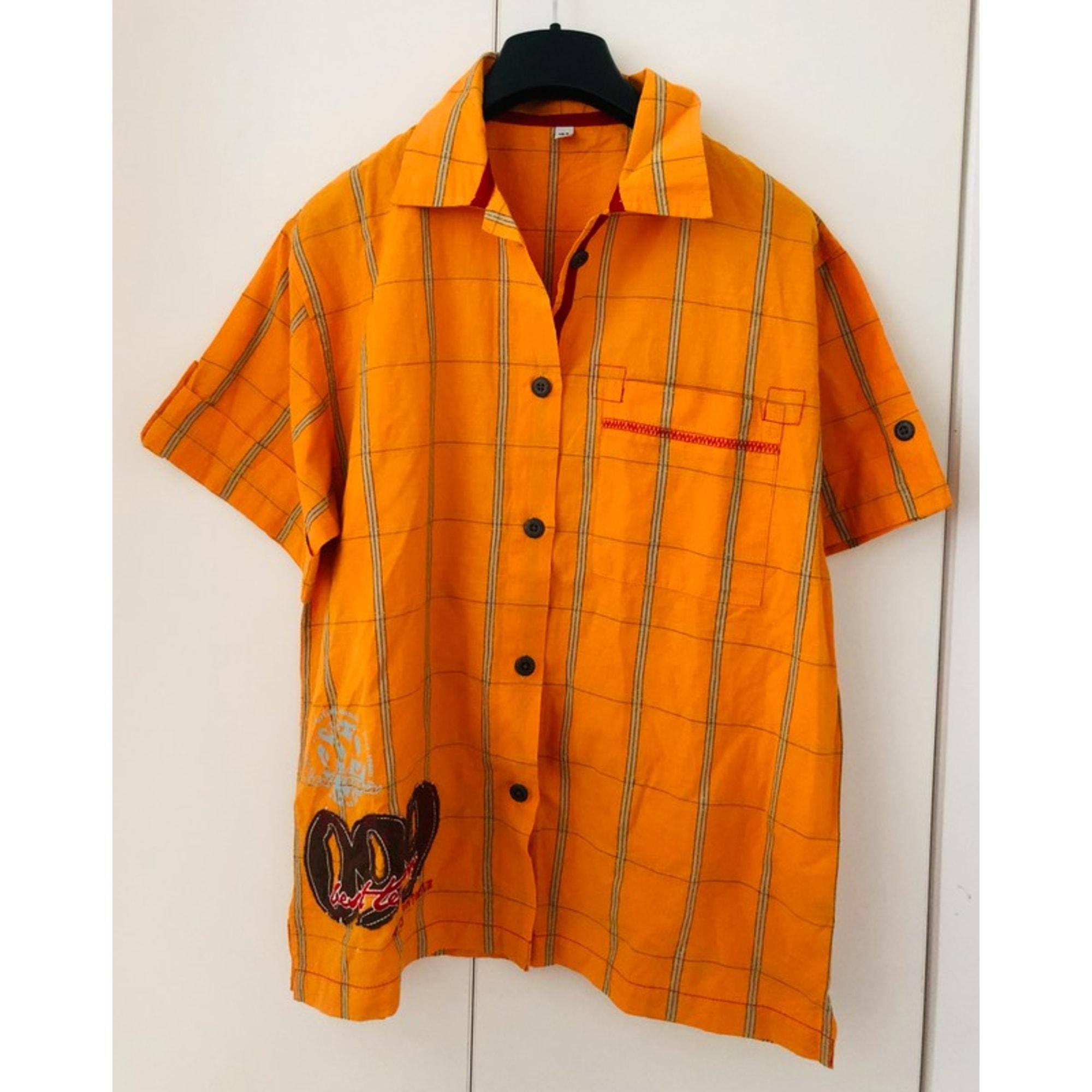 Chemise CAPTAIN TORTUE Orange