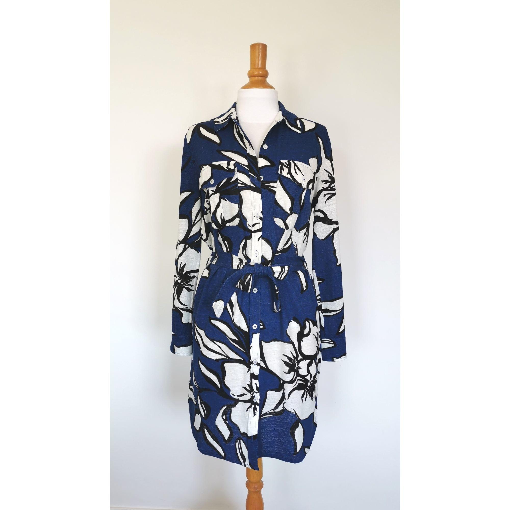 Robe courte MAJESTIC Bleu, bleu marine, bleu turquoise