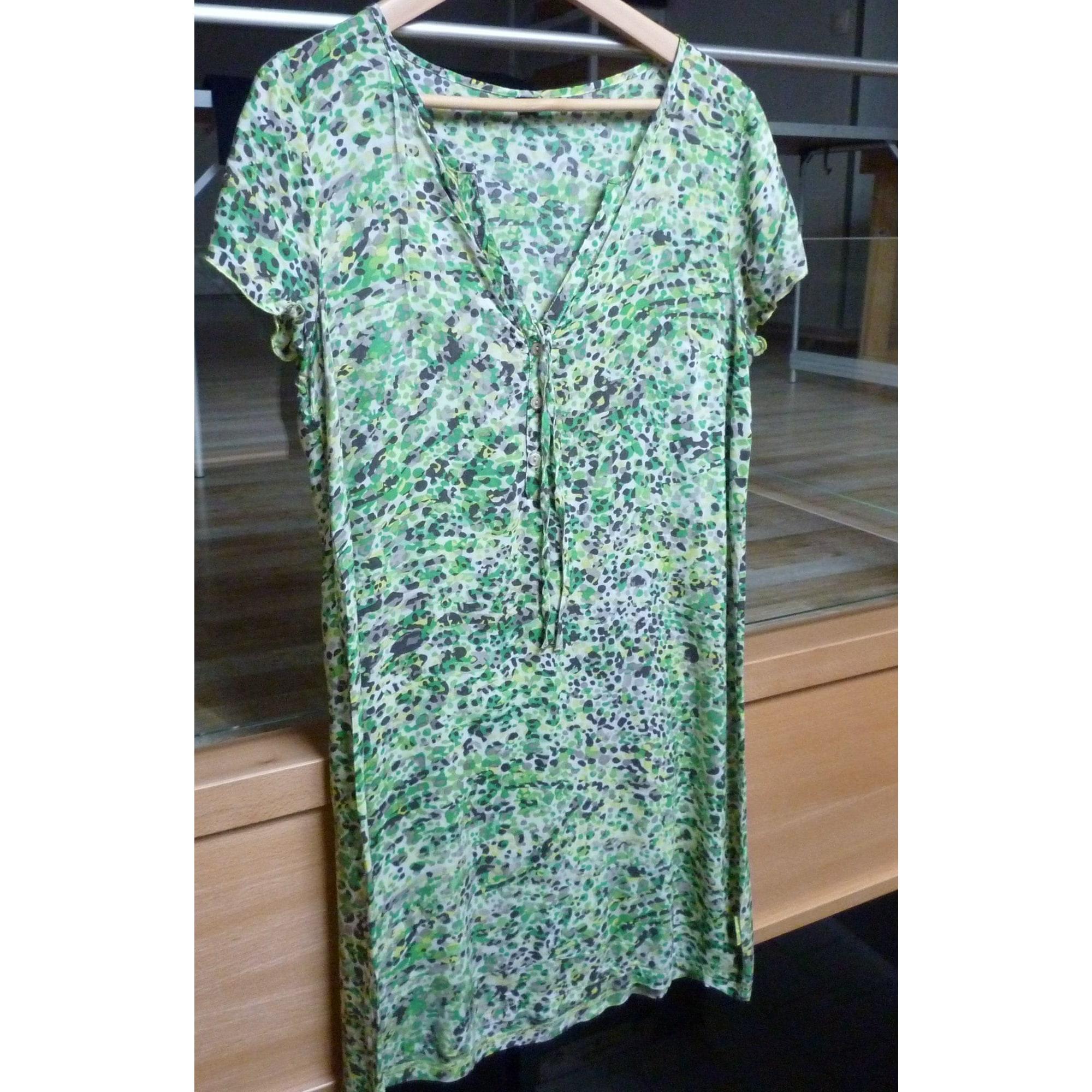 Robe tunique TERRE DE MARINS Vert