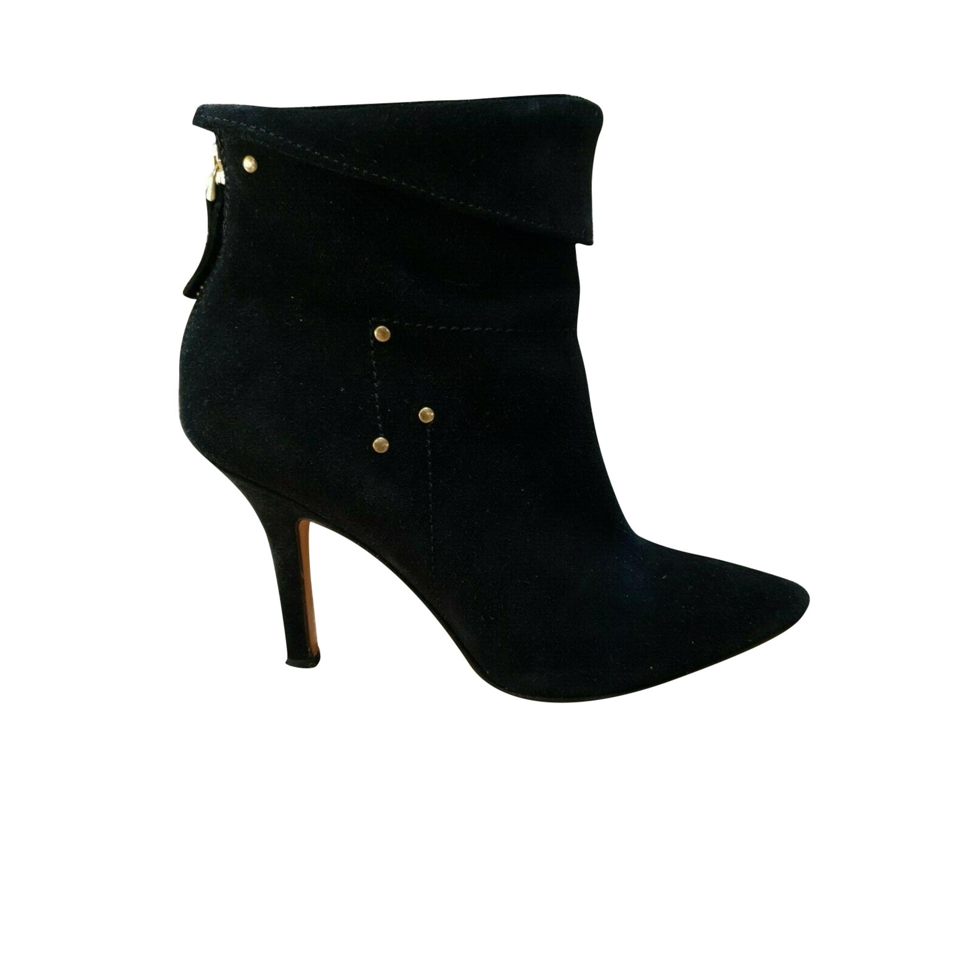 Bottines & low boots à talons JEROME DREYFUSS Noir