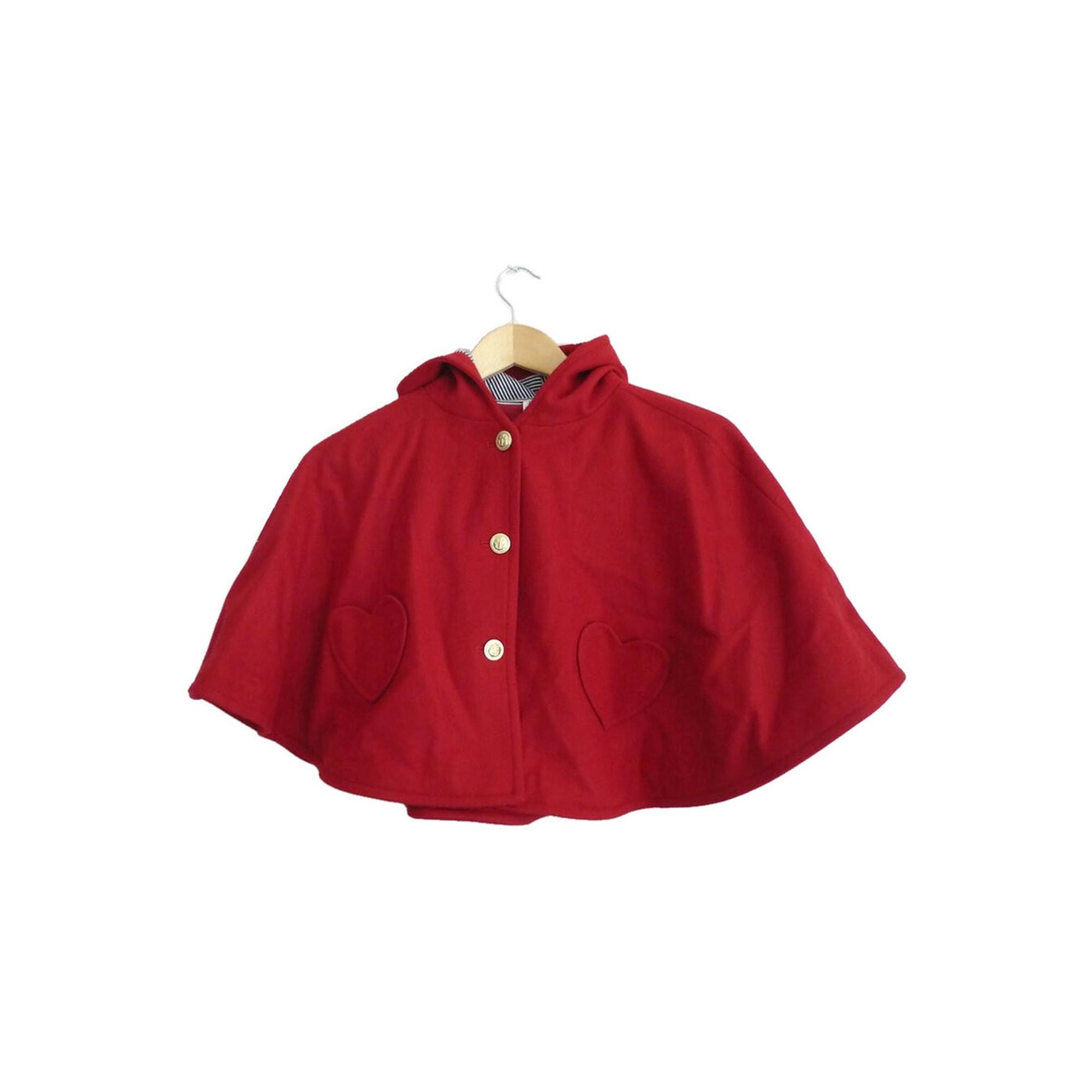 Manteau PETIT BATEAU Rouge, bordeaux