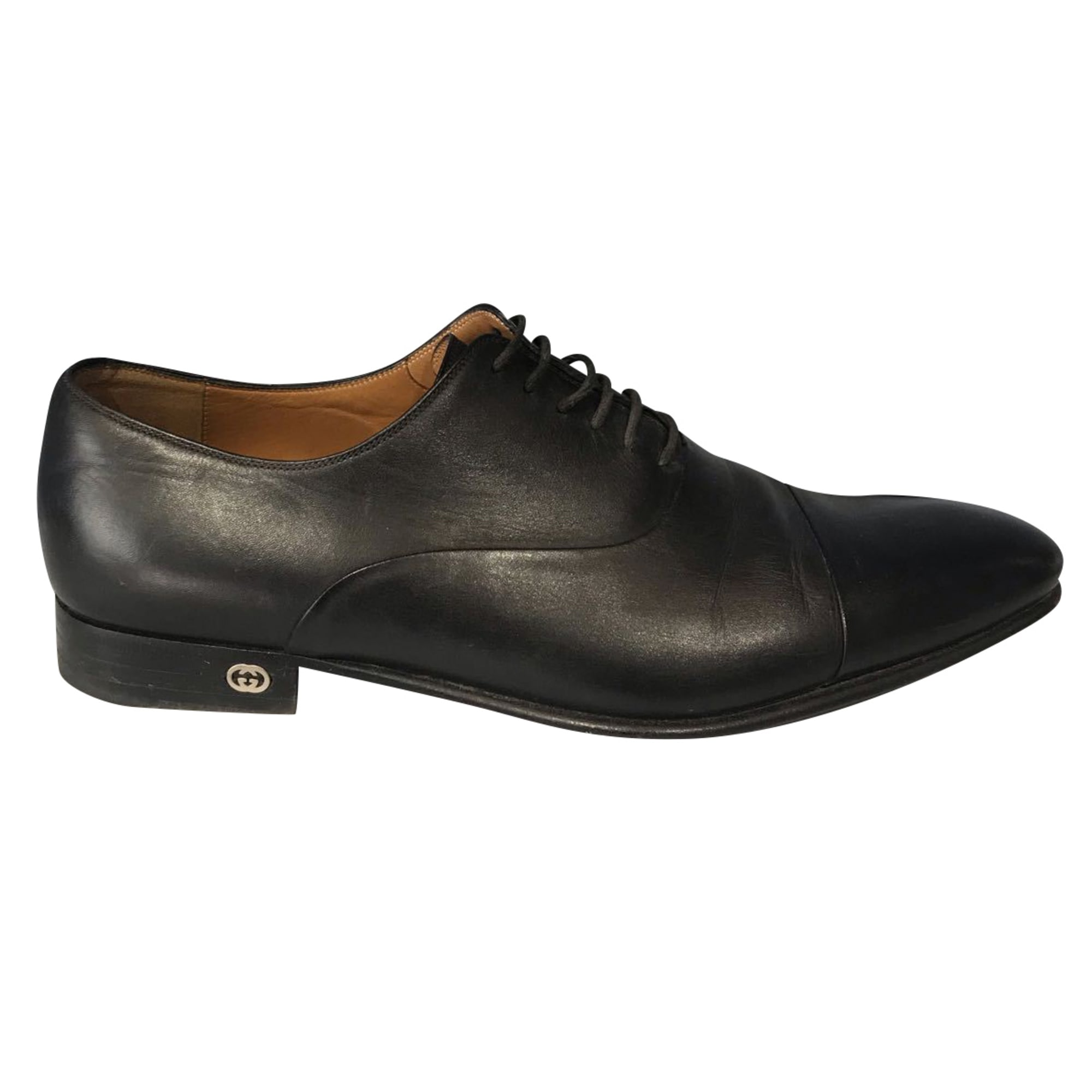 Lace Up Shoes GUCCI Black