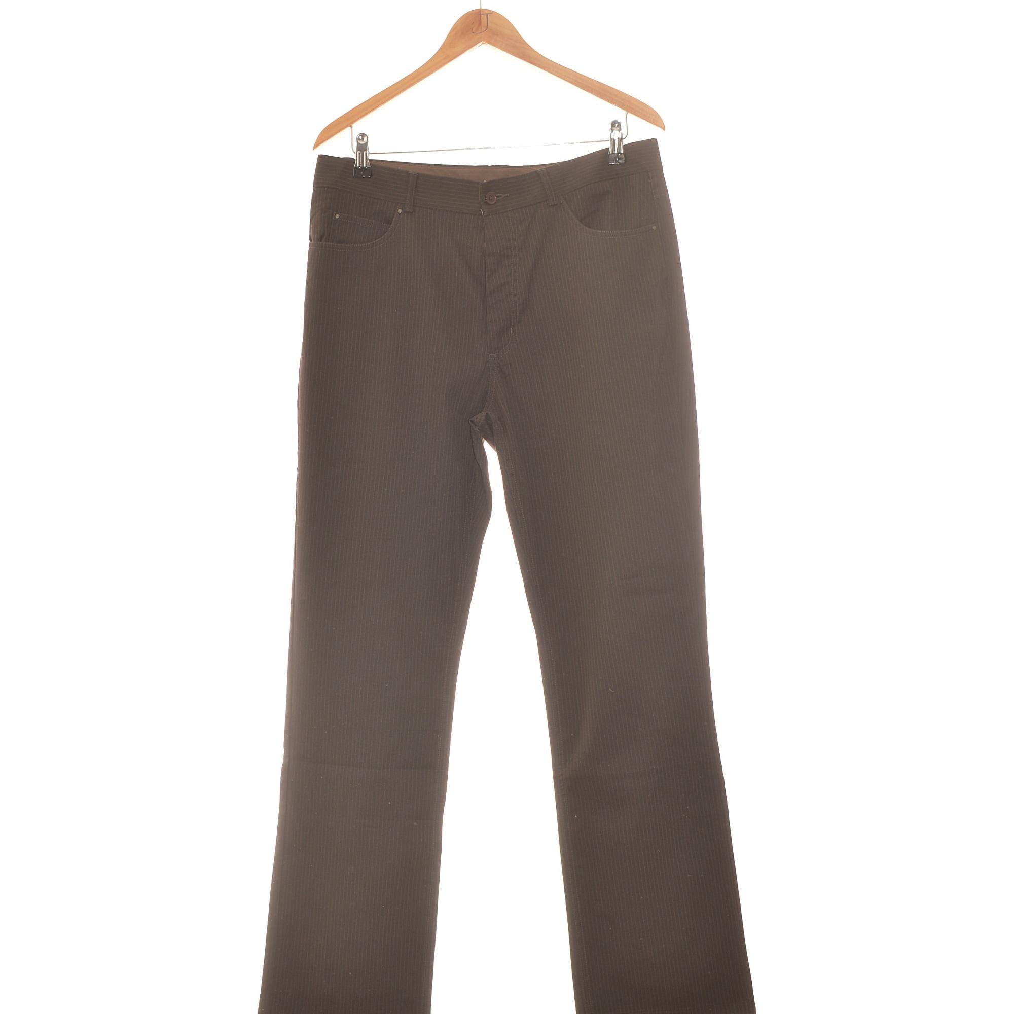 Pantalon droit BURTON Marron