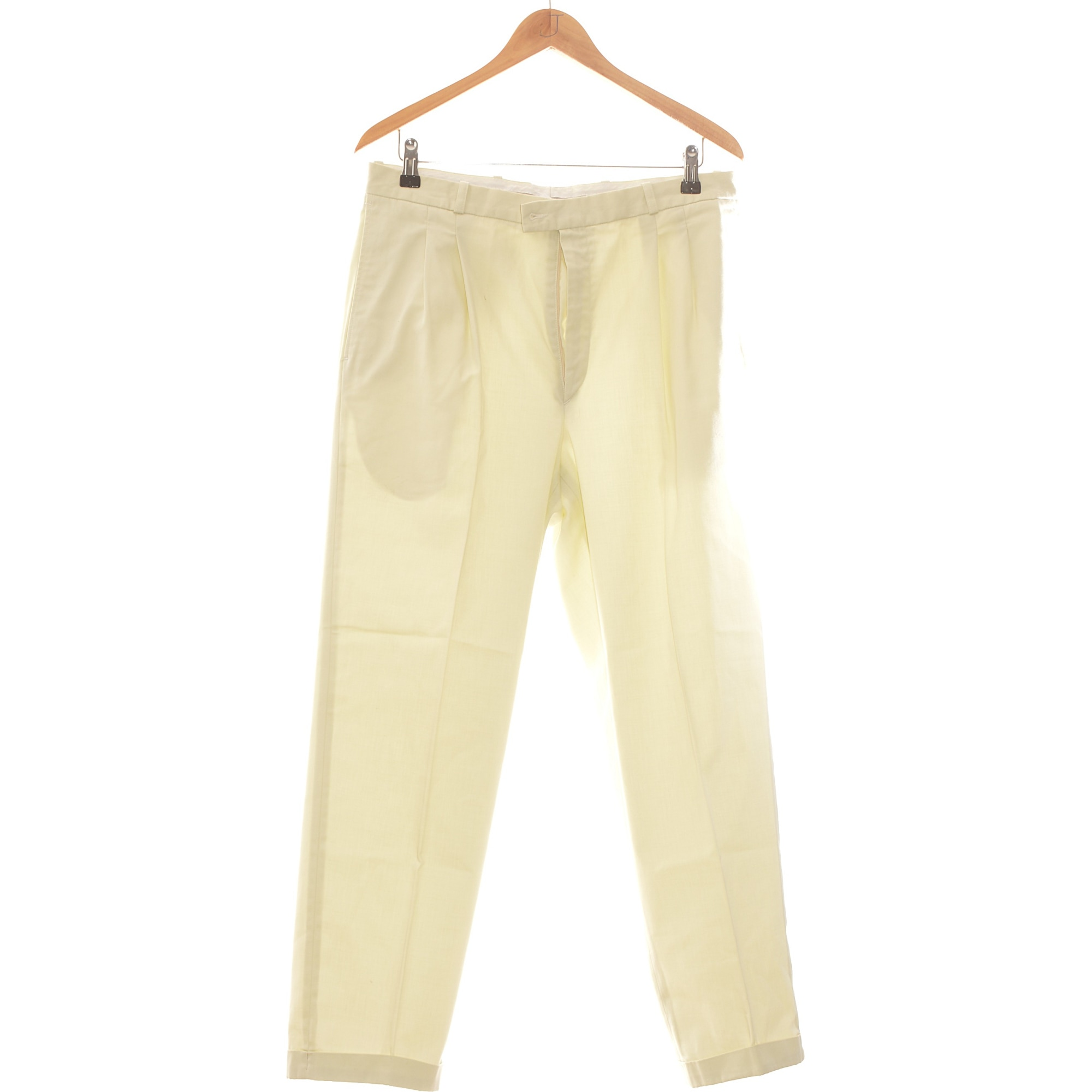 Pantalon droit BRICE Beige, camel