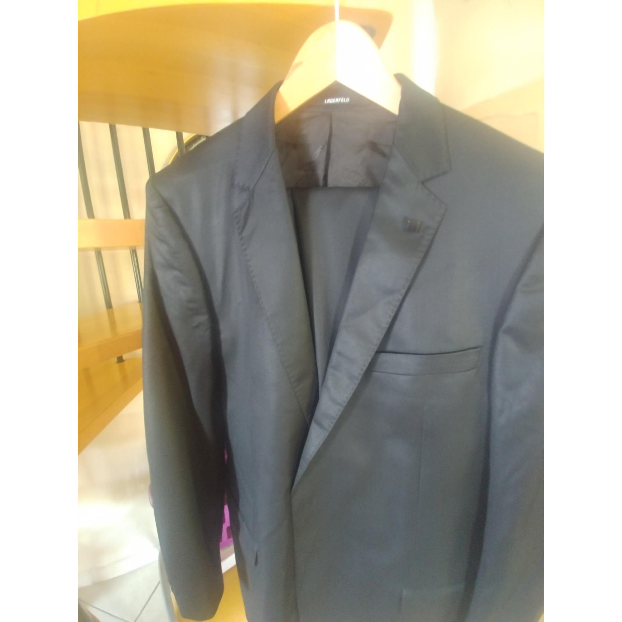 Complete Suit KARL LAGERFELD Black