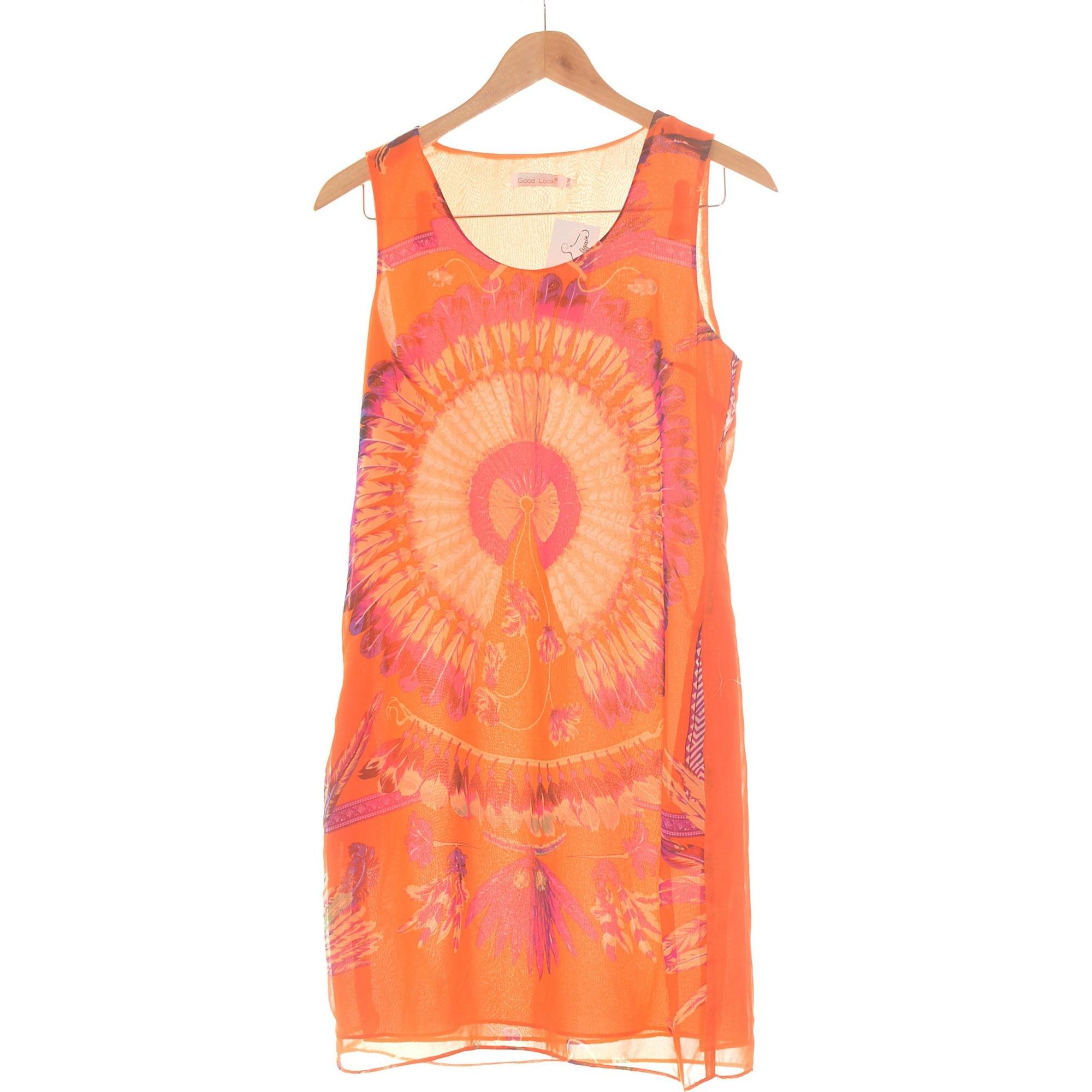 Robe courte GOOD LOOK Orange