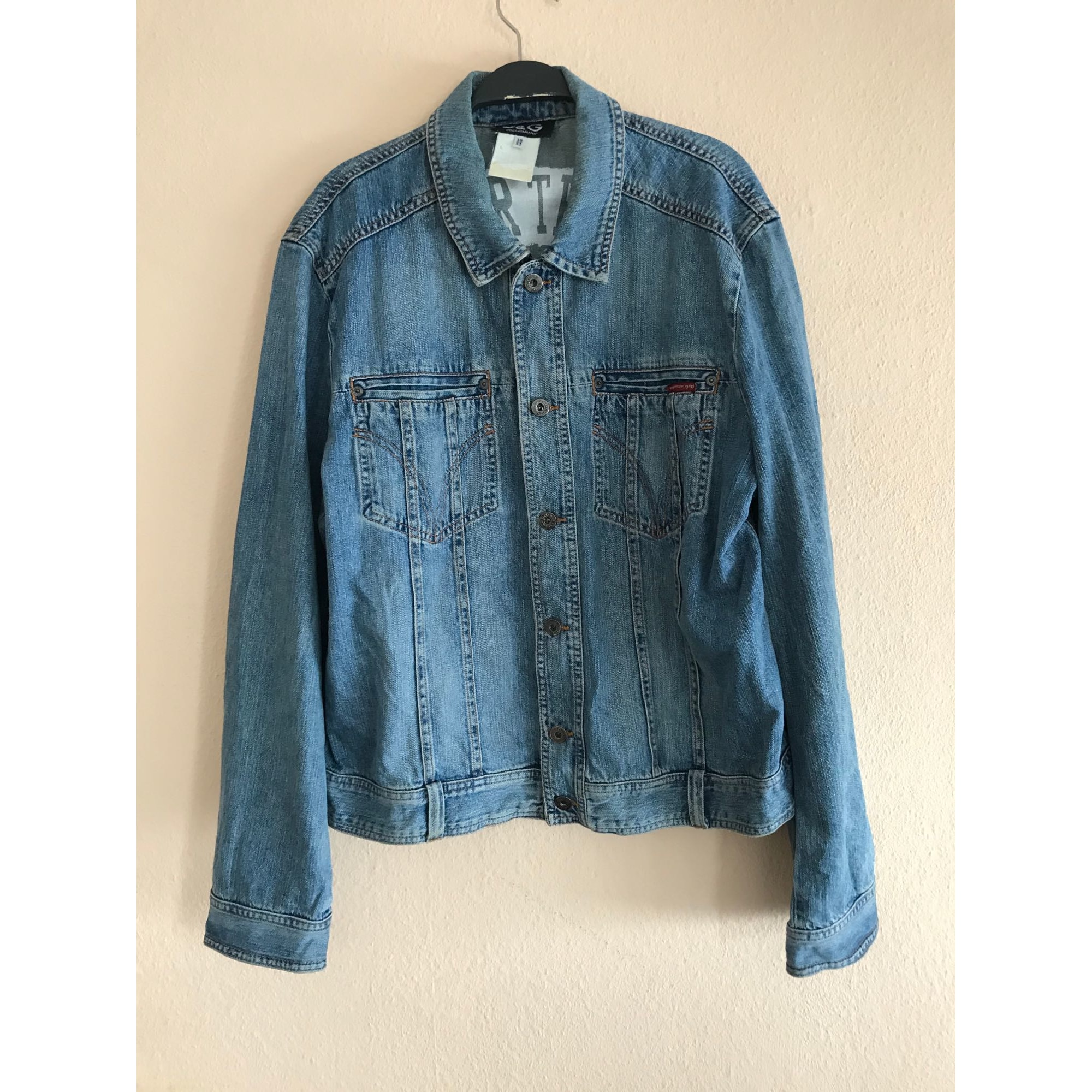 Veste en jean DOLCE & GABBANA Bleu, bleu marine, bleu turquoise