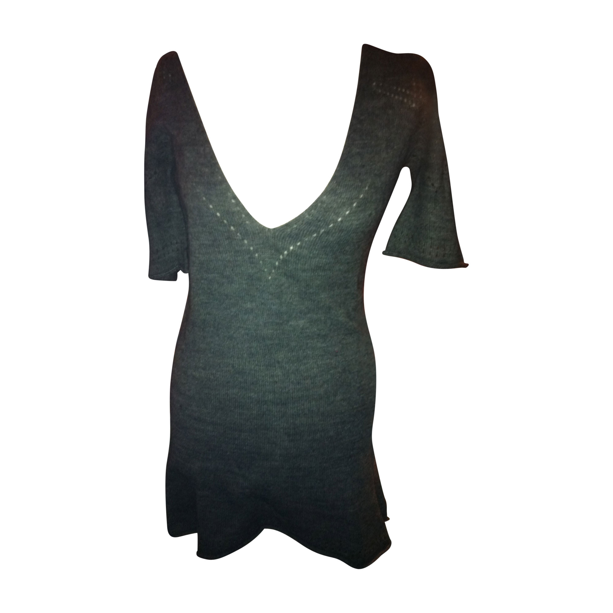 Pull tunique SEE BY CHLOE Gris, anthracite