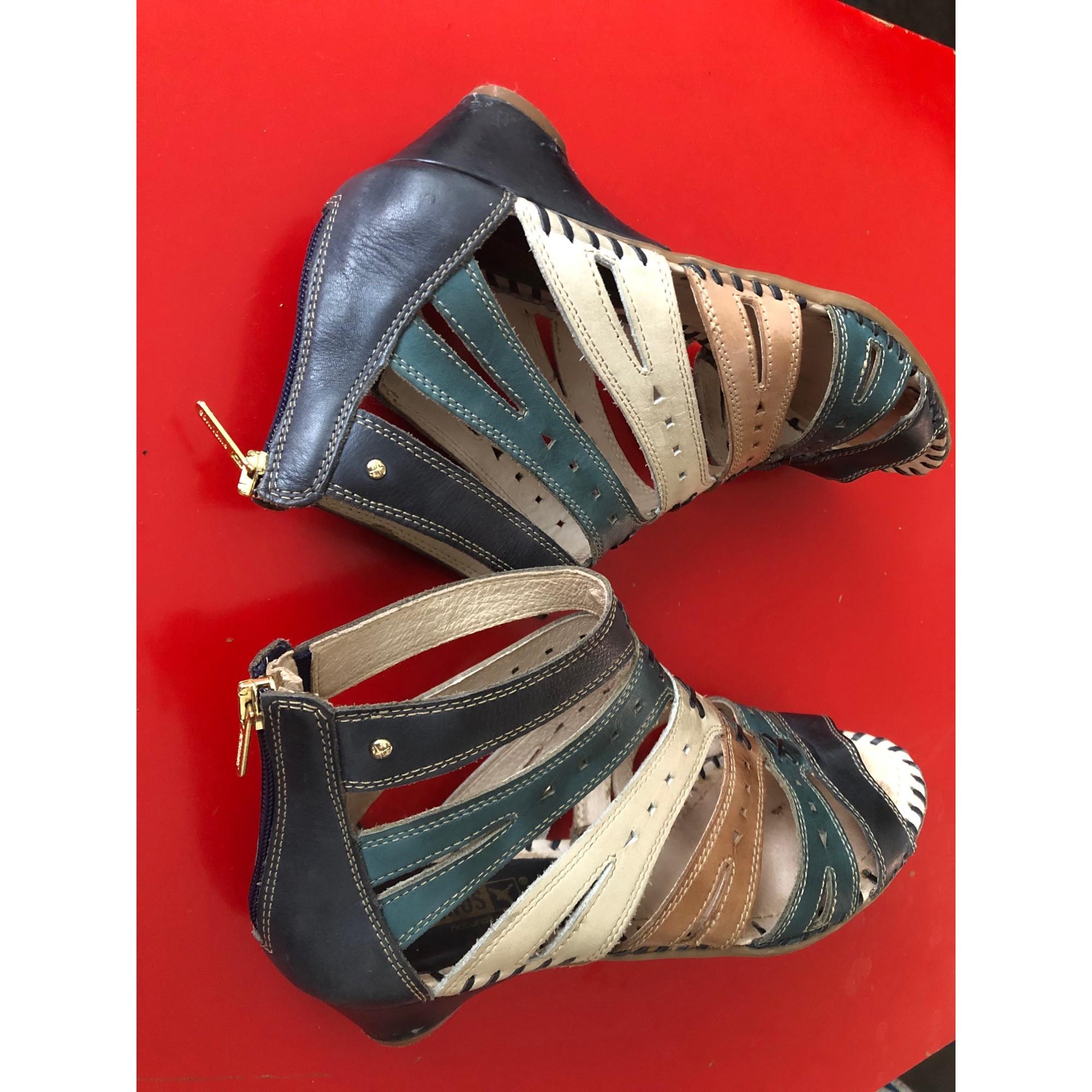 Sandales à talons PIKOLINOS Multicouleur