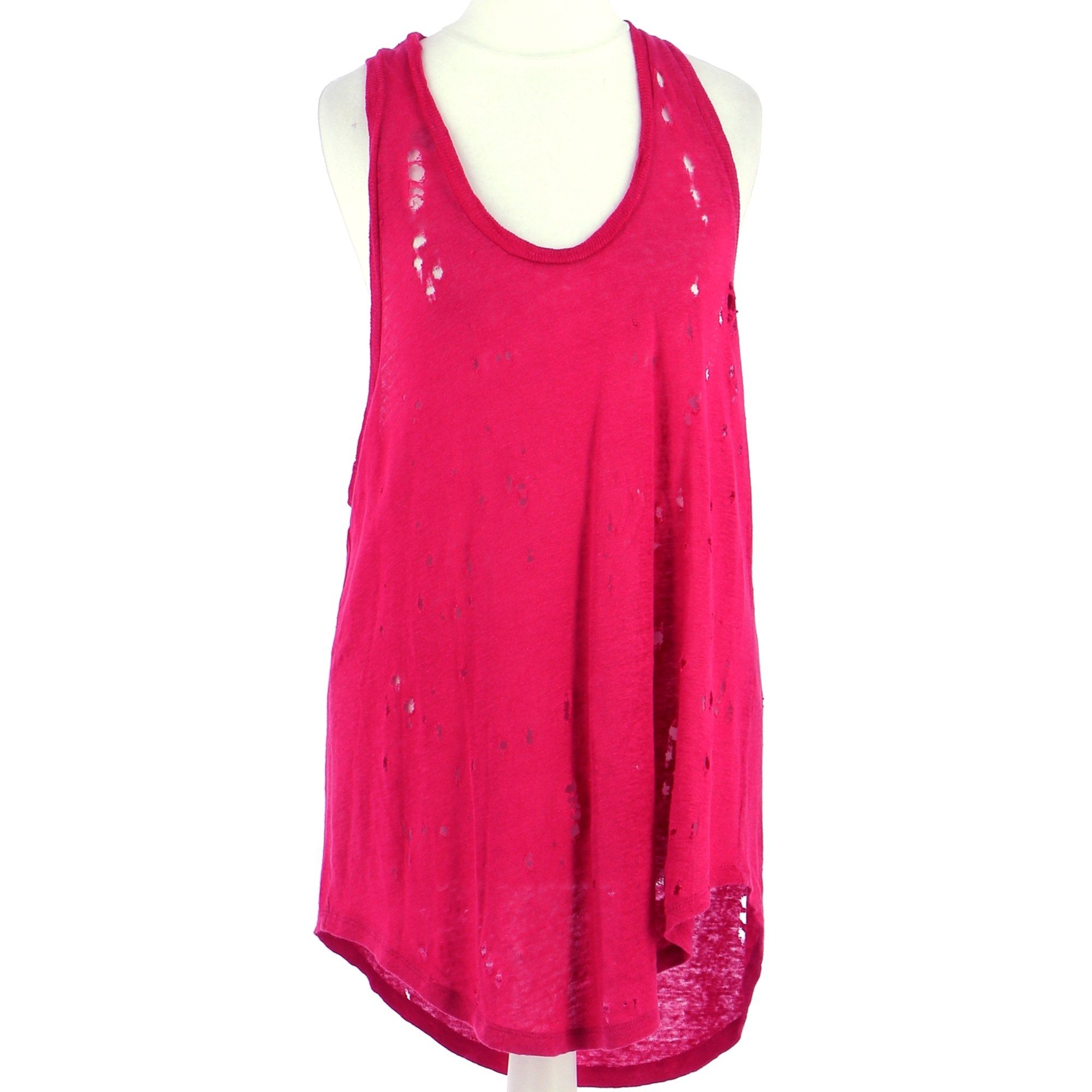 Top, T-shirt IRO Pink, fuchsia, light pink