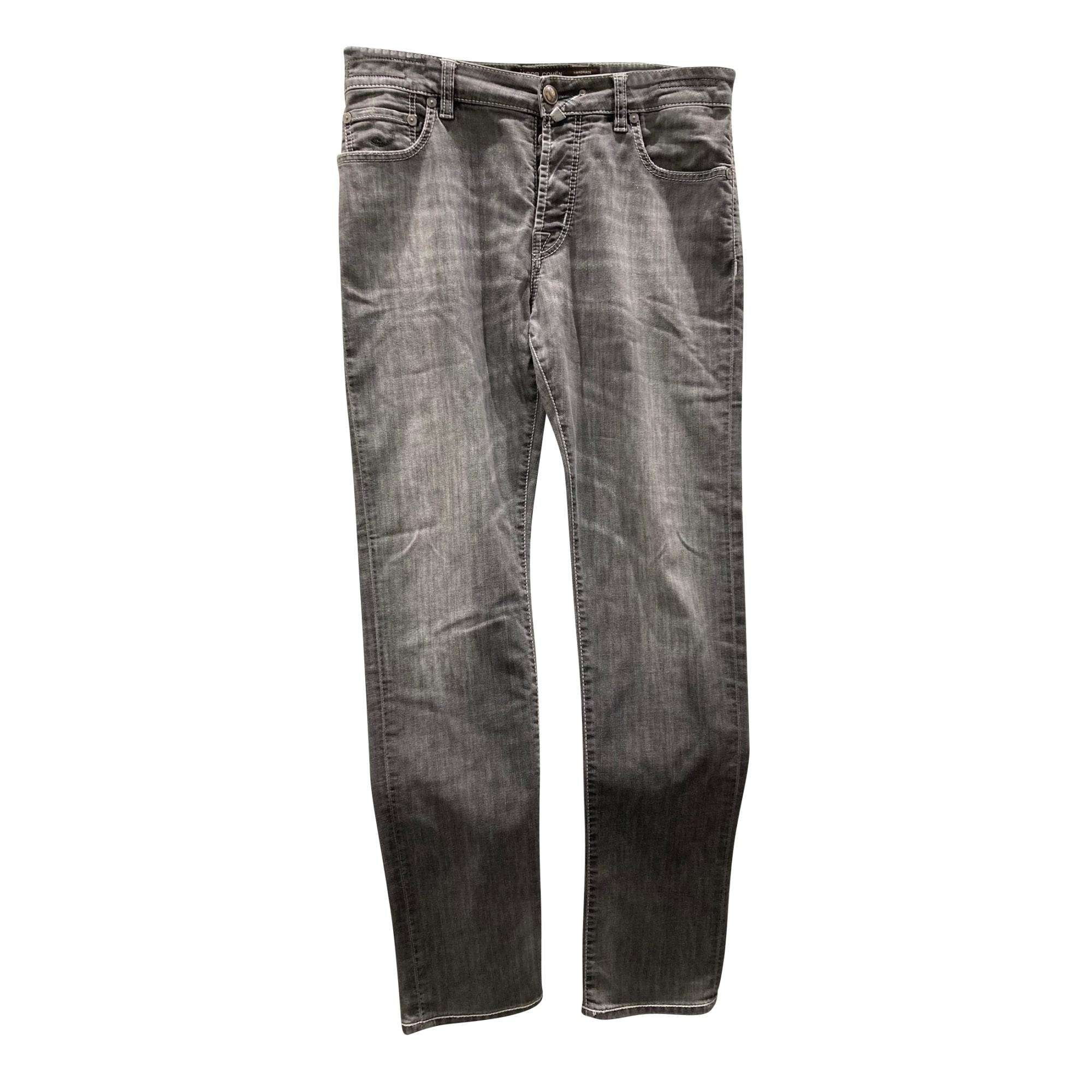 Straight Leg Jeans JACOB COHEN Gray, charcoal
