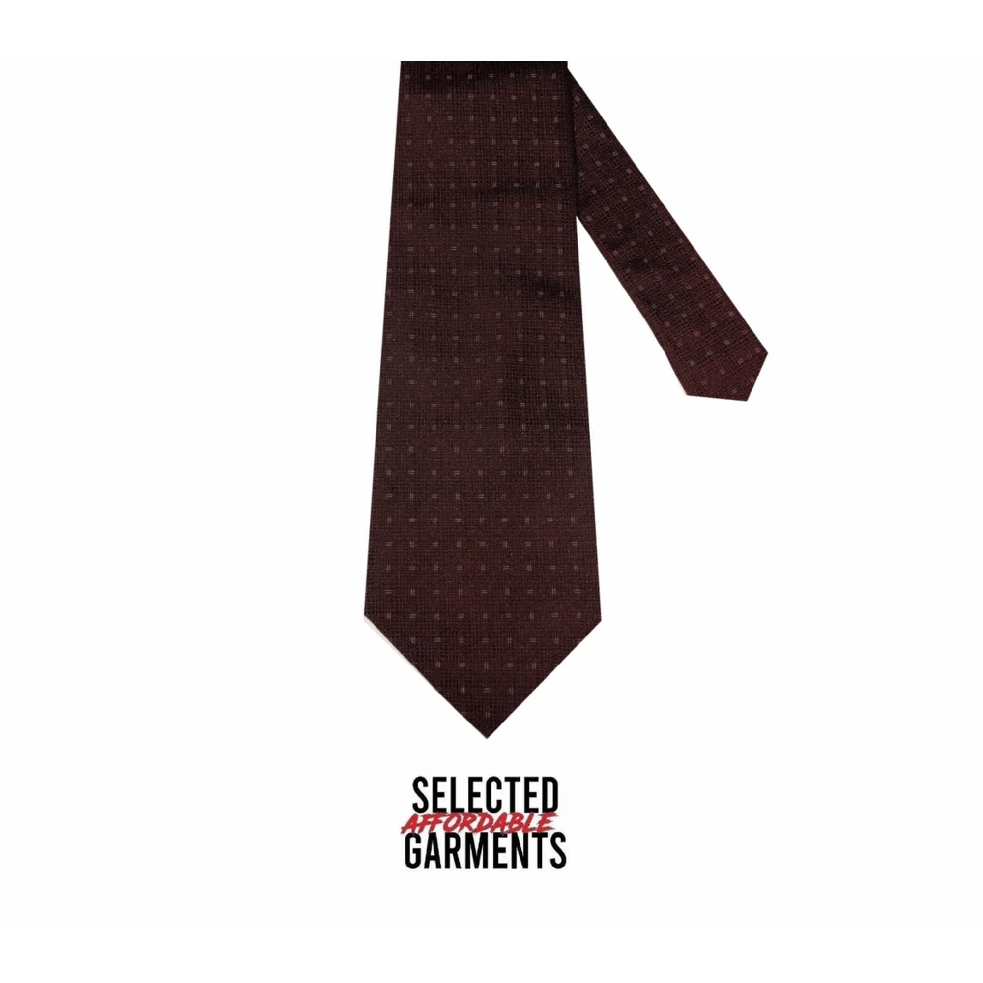 Cravate CALVIN KLEIN Rouge, bordeaux