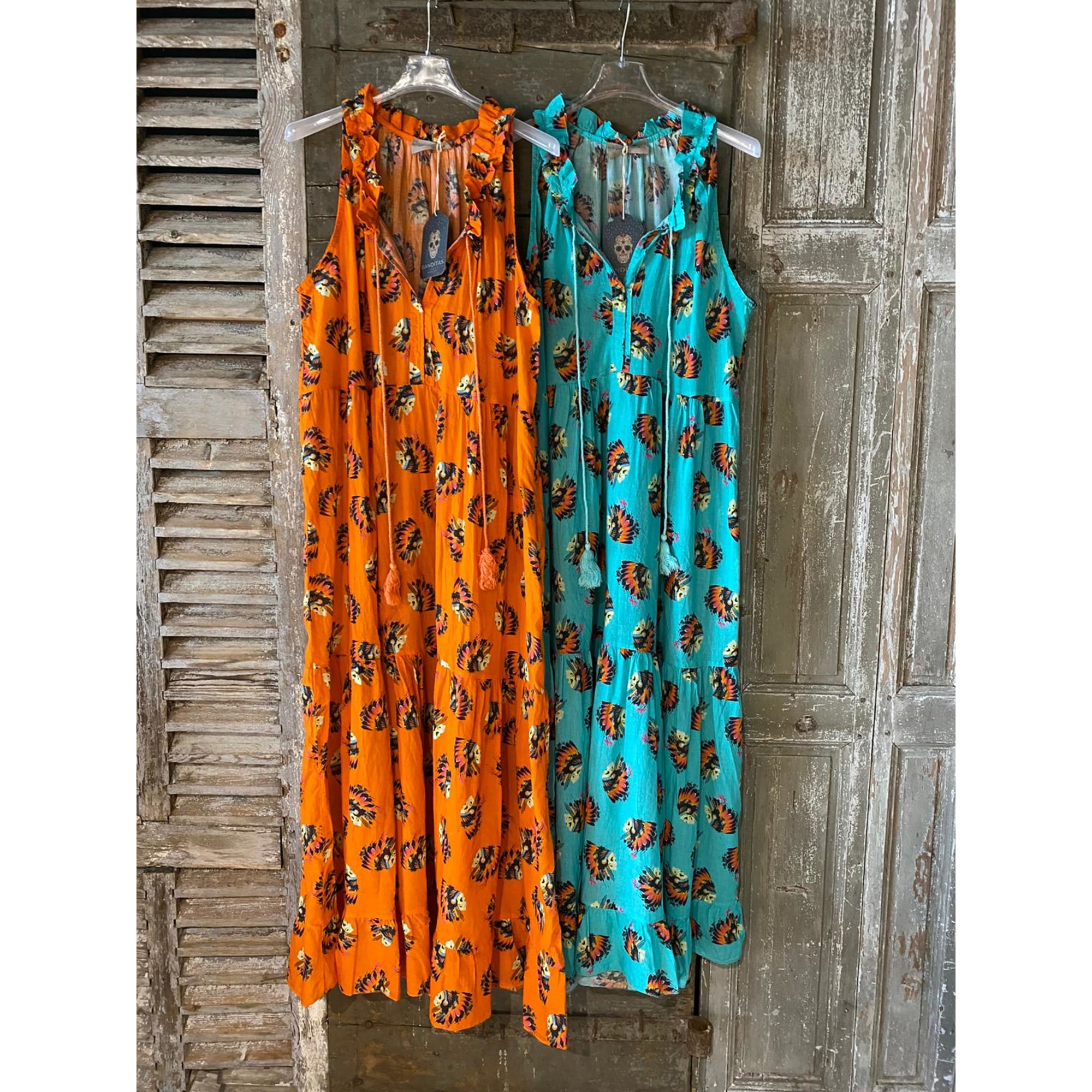 Robe longue BANDITAS Orange