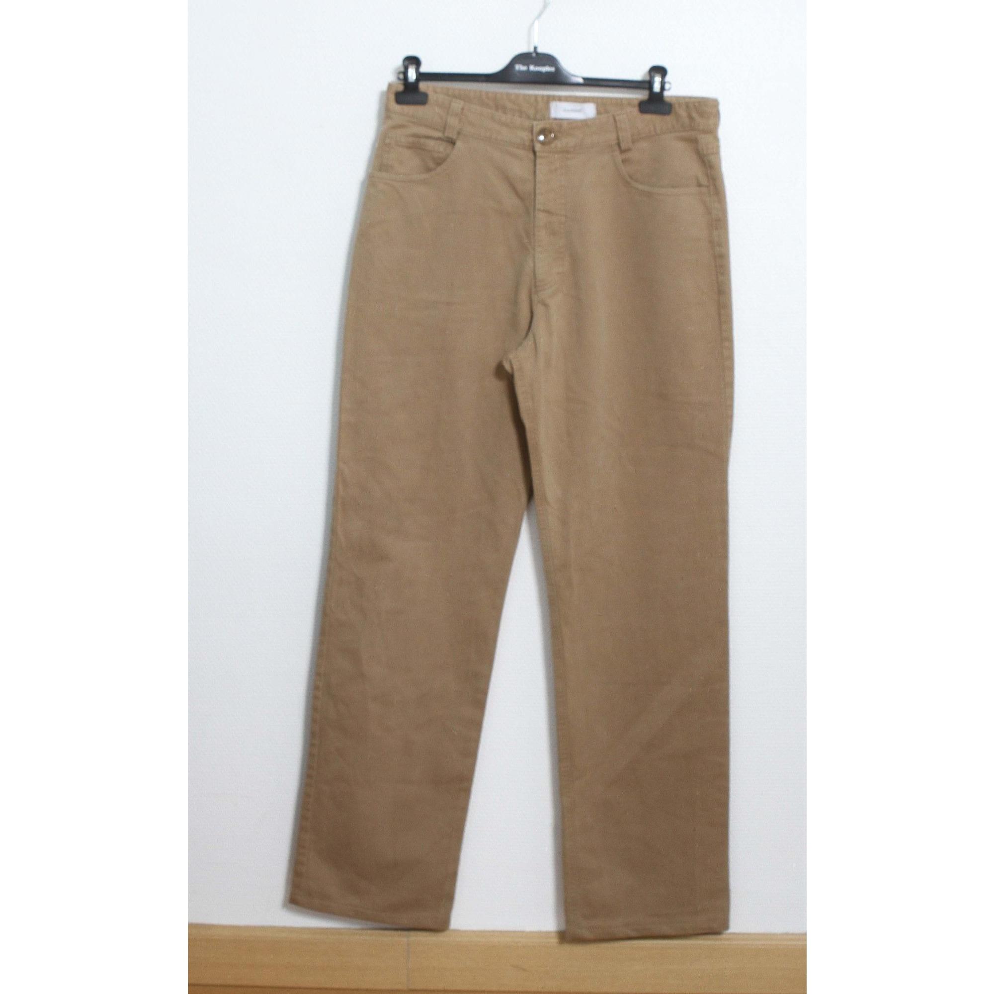 Pantalon droit CACHAREL Beige, camel