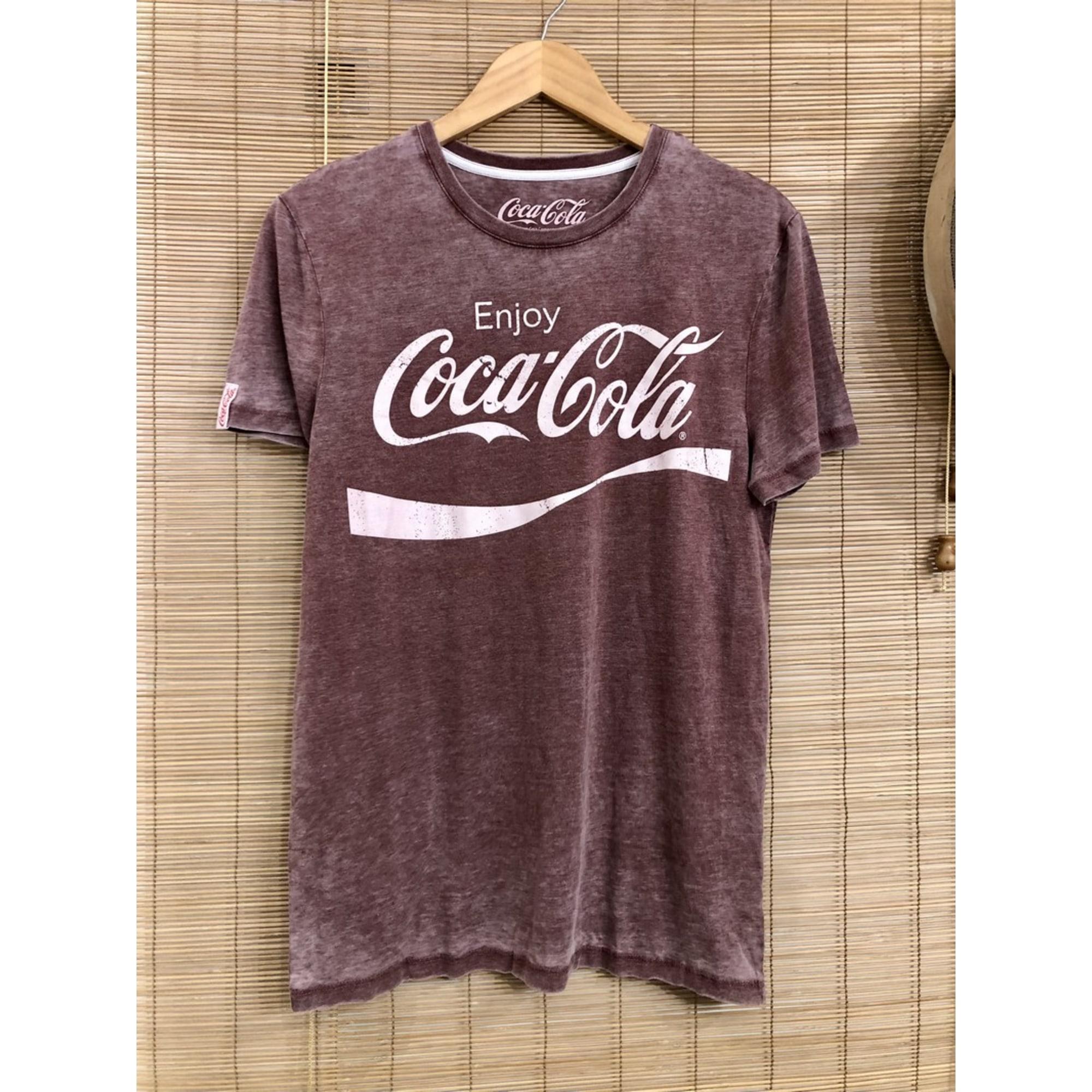 Tee-shirt COCA COLA Rouge, bordeaux