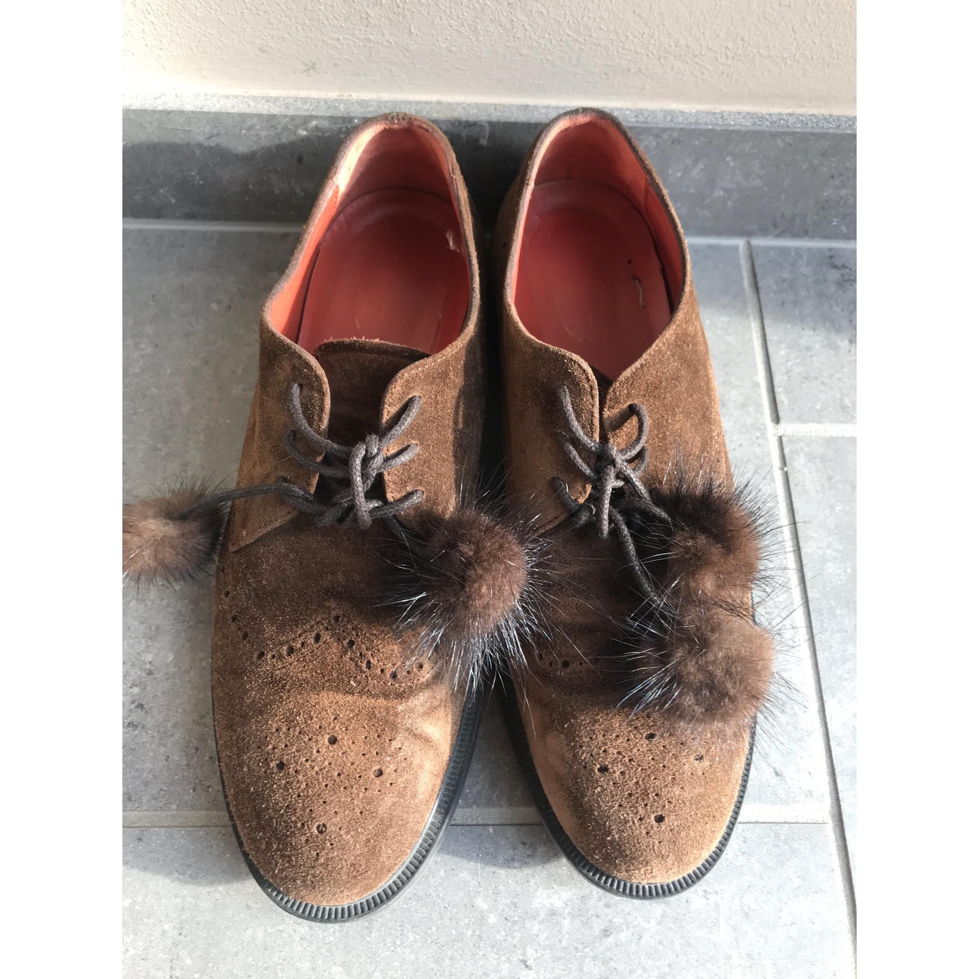 Chaussures à lacets  TRIVER FLIGHT Marron