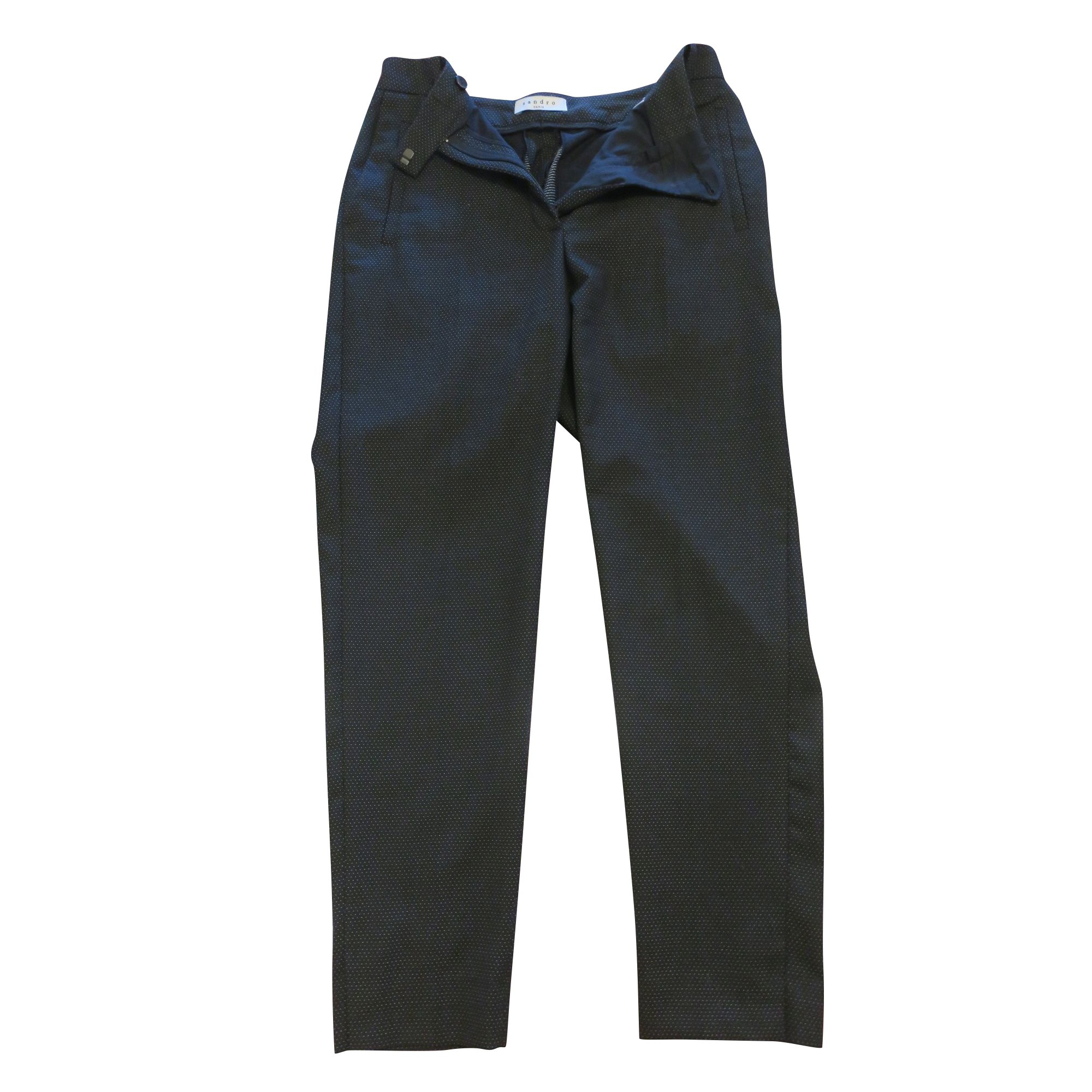 Tailleur pantalon SANDRO Noir