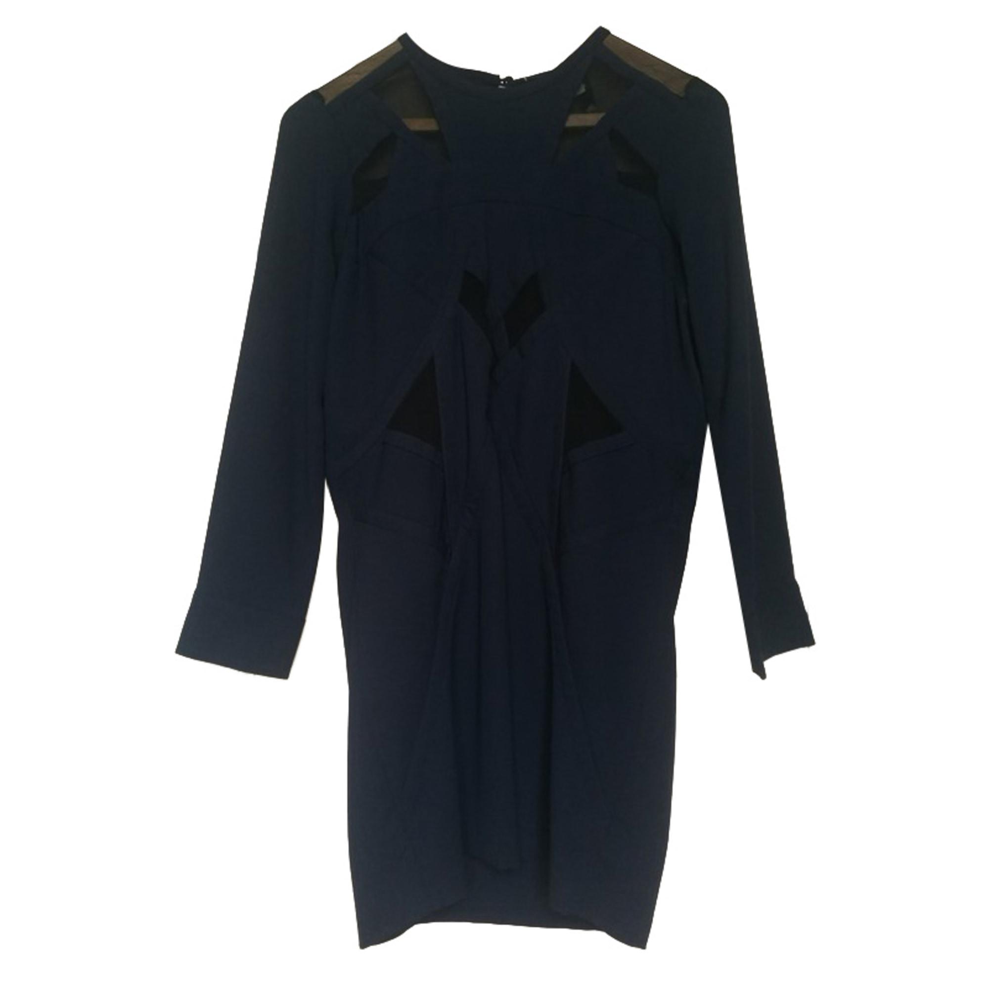 Midi Dress IRO Blue, navy, turquoise