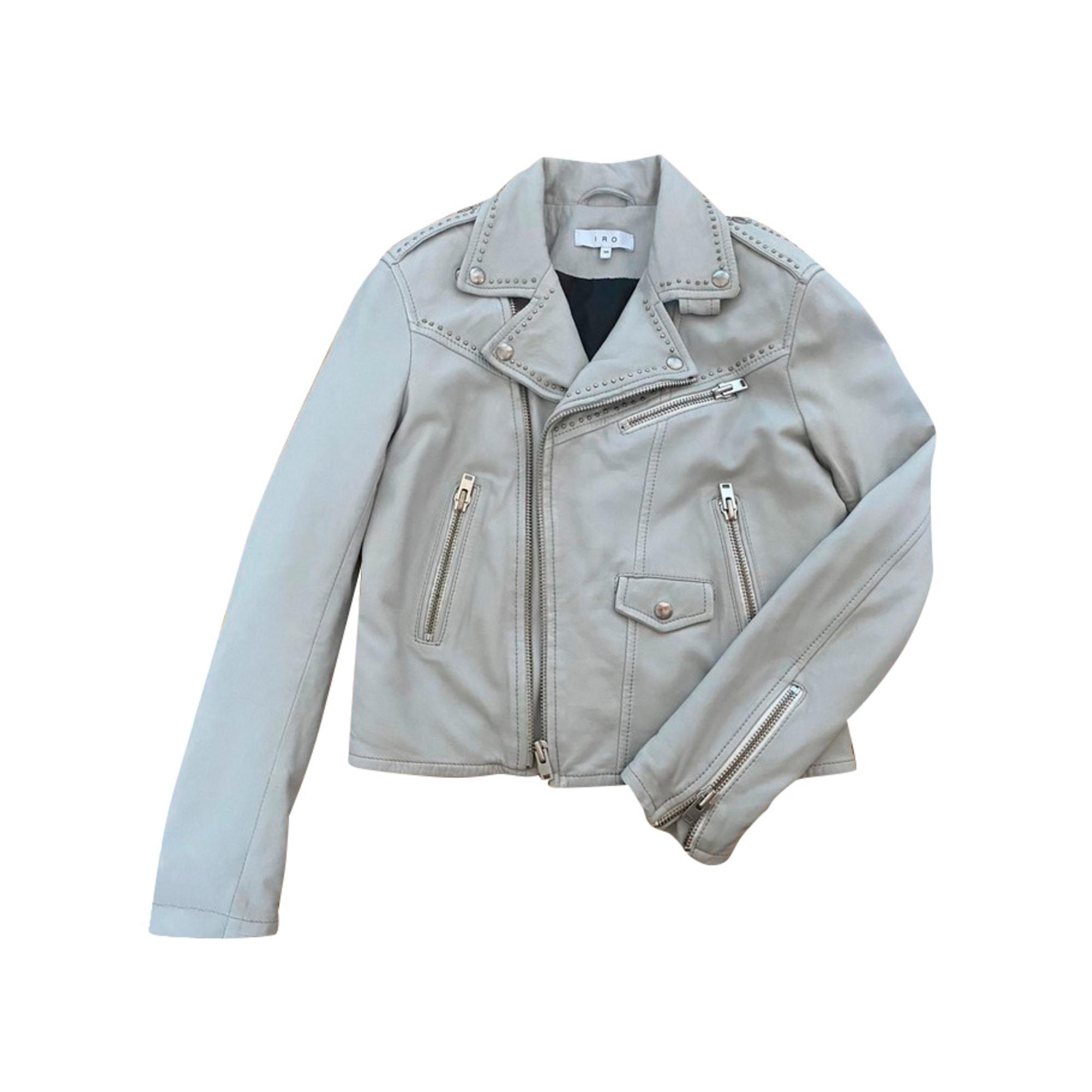 Zipped Jacket IRO Gray, charcoal