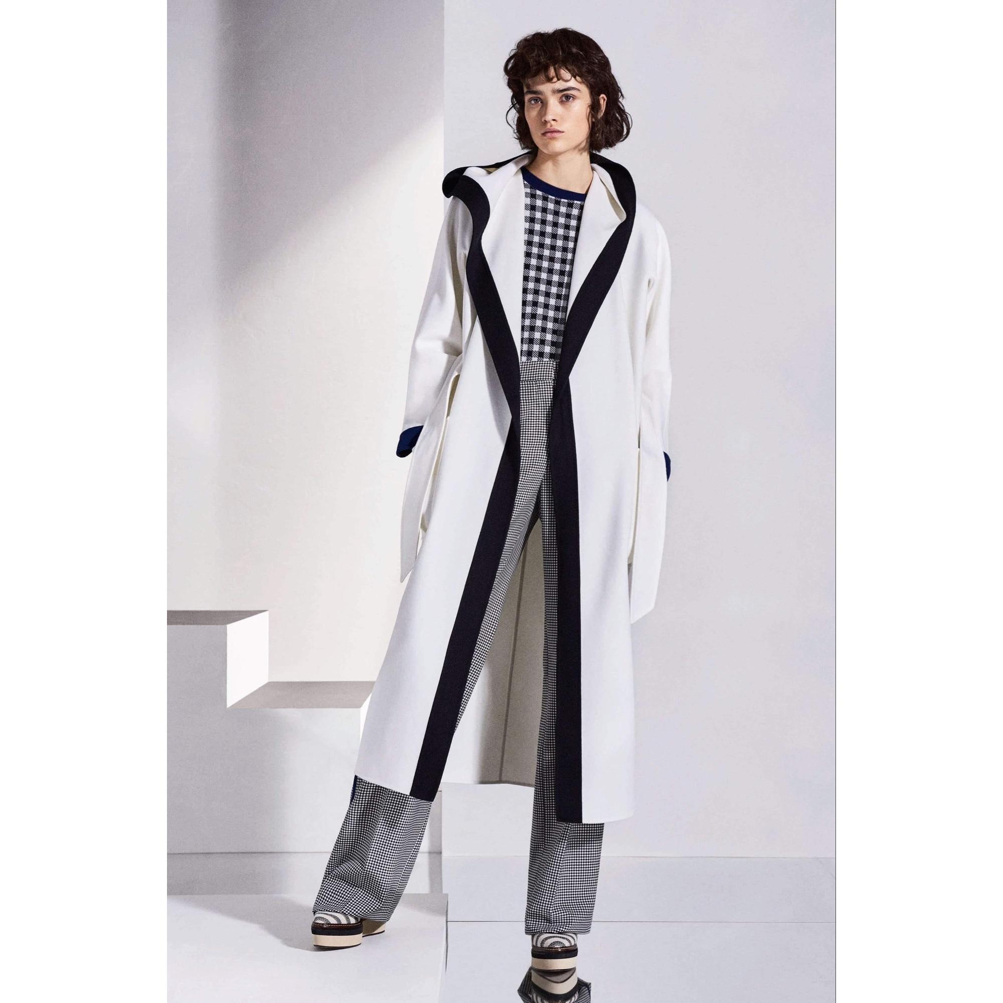 Manteau MAX MARA Blanc, blanc cassé, écru