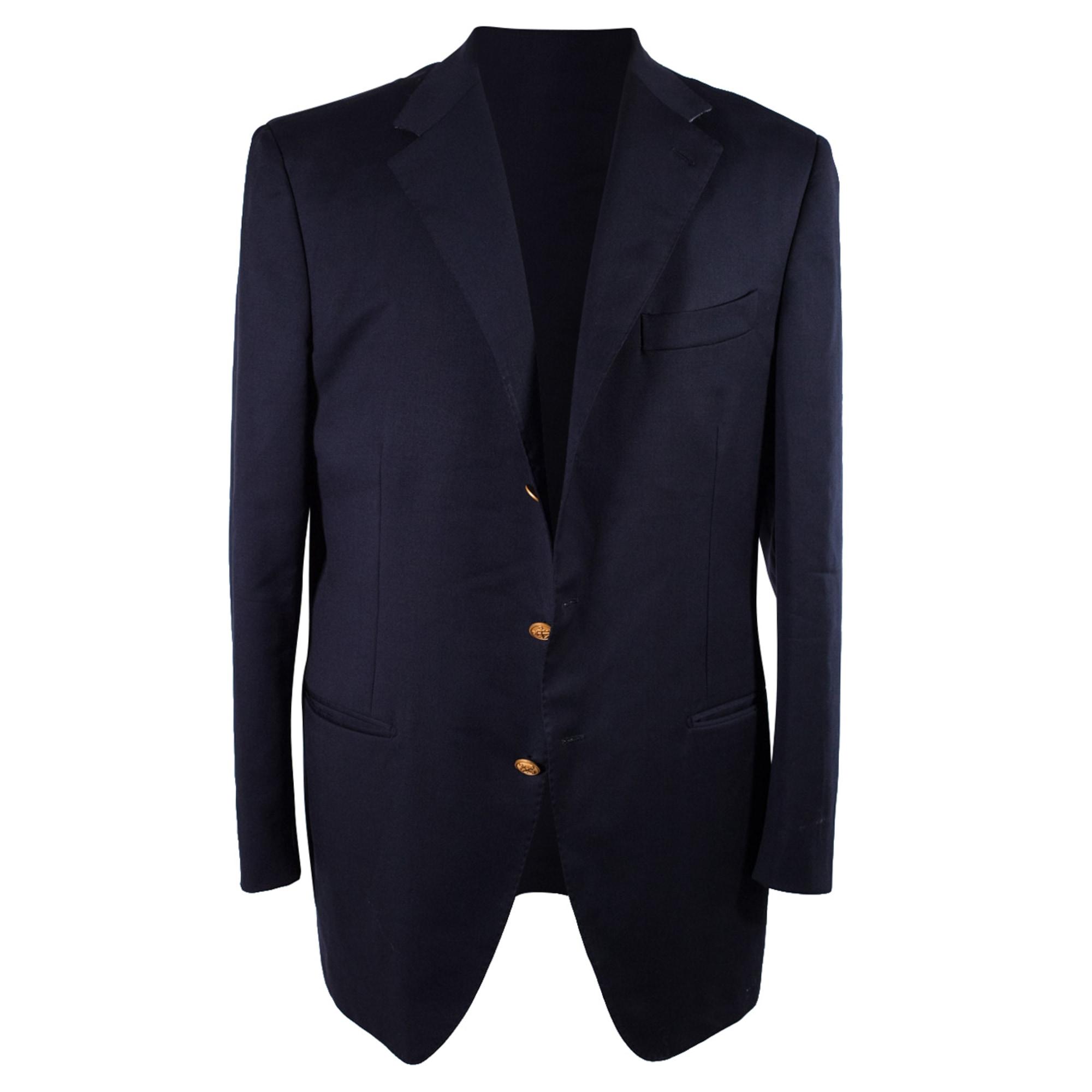 Suit Jacket FAÇONNABLE Blue, navy, turquoise