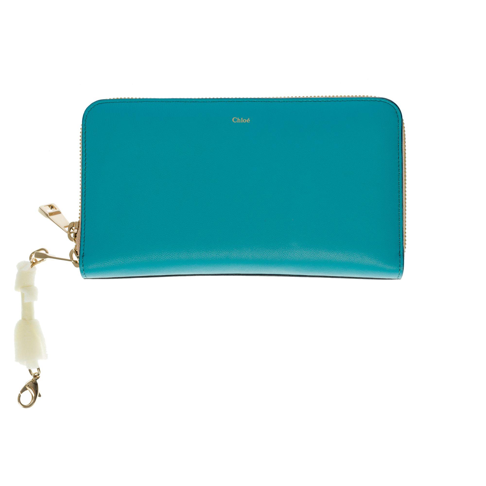 Portefeuille CHLOÉ Bleu, bleu marine, bleu turquoise