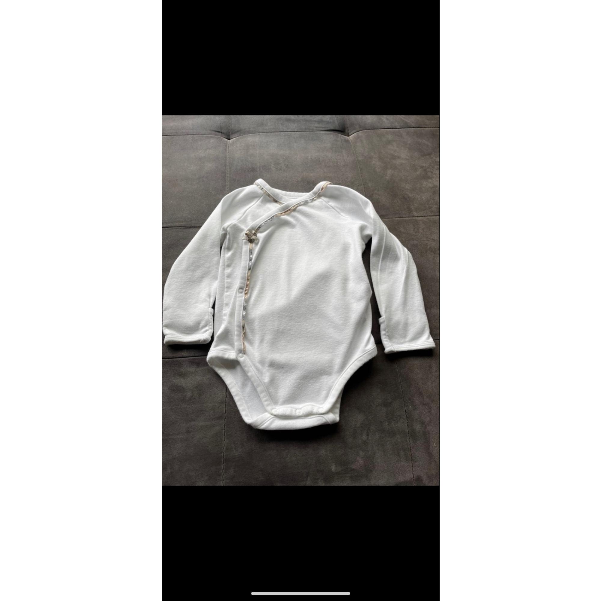 Body BURBERRY Blanc, blanc cassé, écru