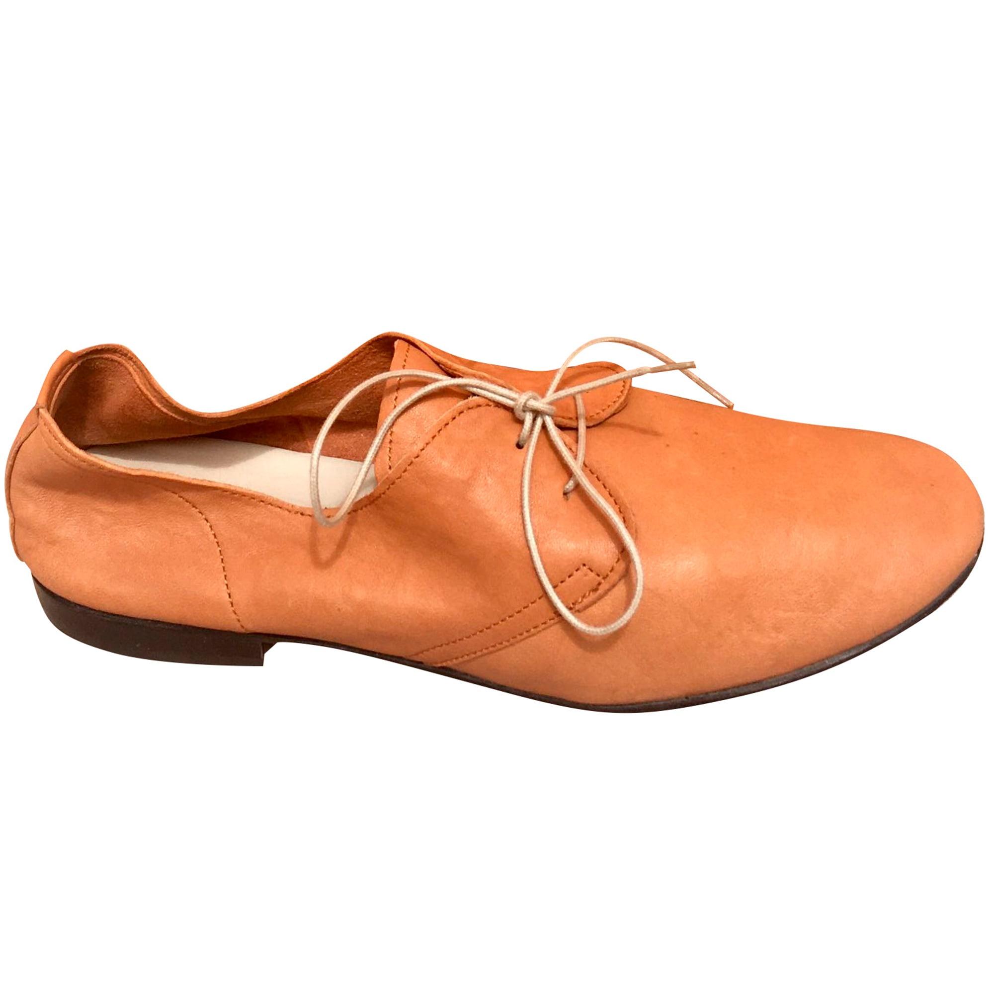 Chaussures à lacets  ANNIEL Beige, camel