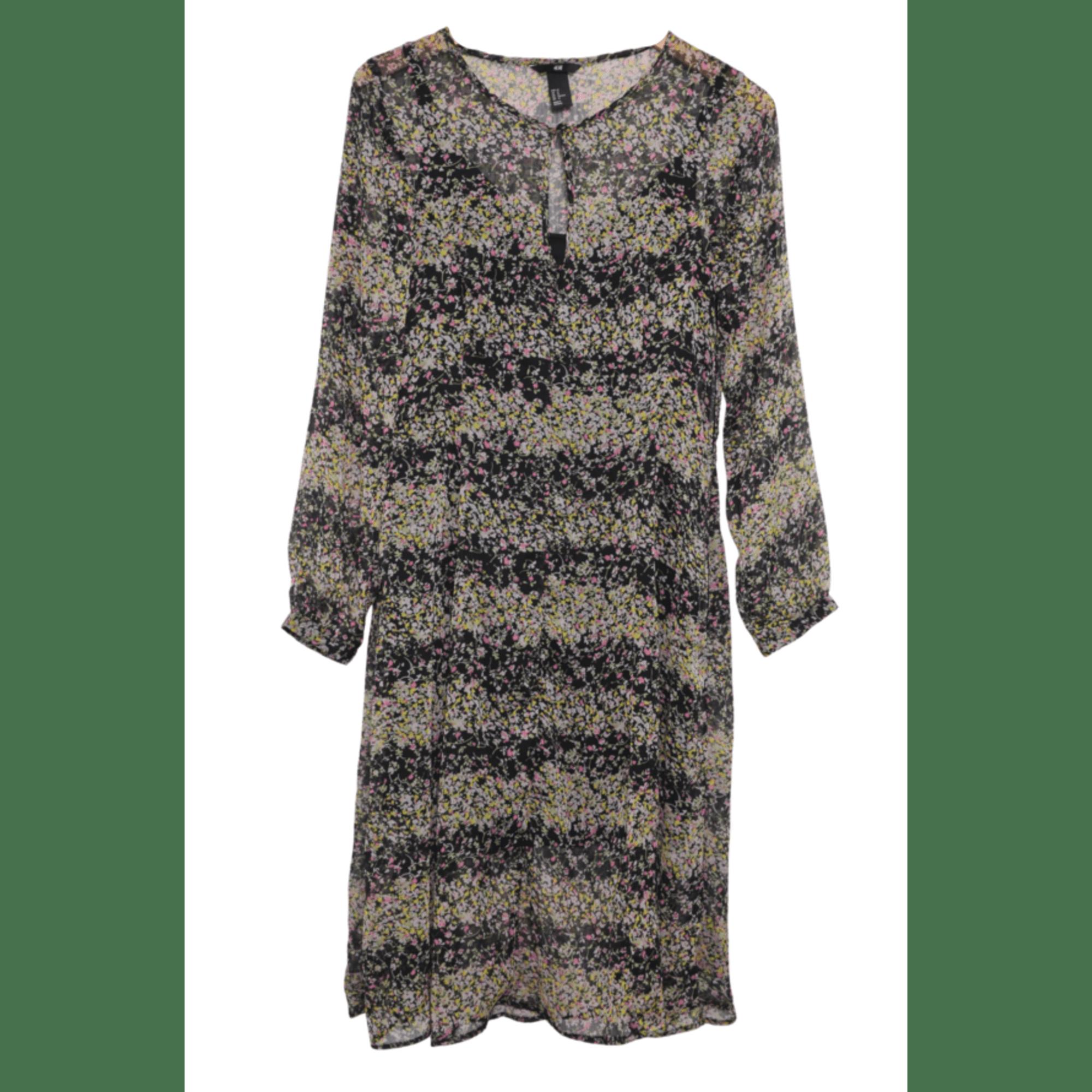 Robe mi-longue H&M Multicouleur