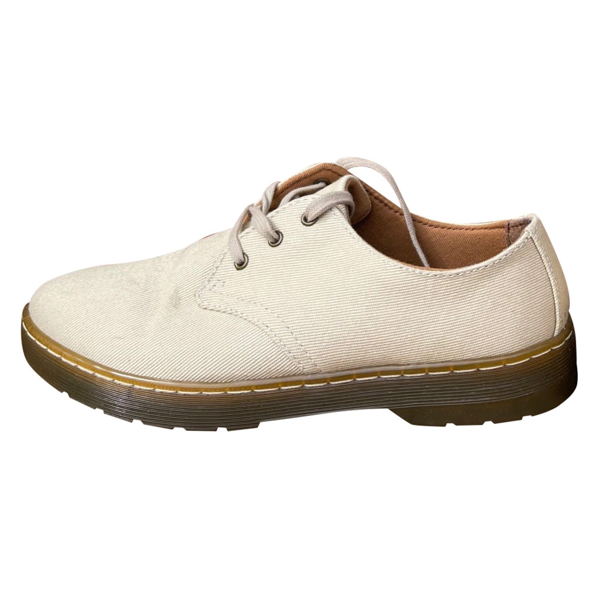 Chaussures à lacets  DR. MARTENS Beige, camel