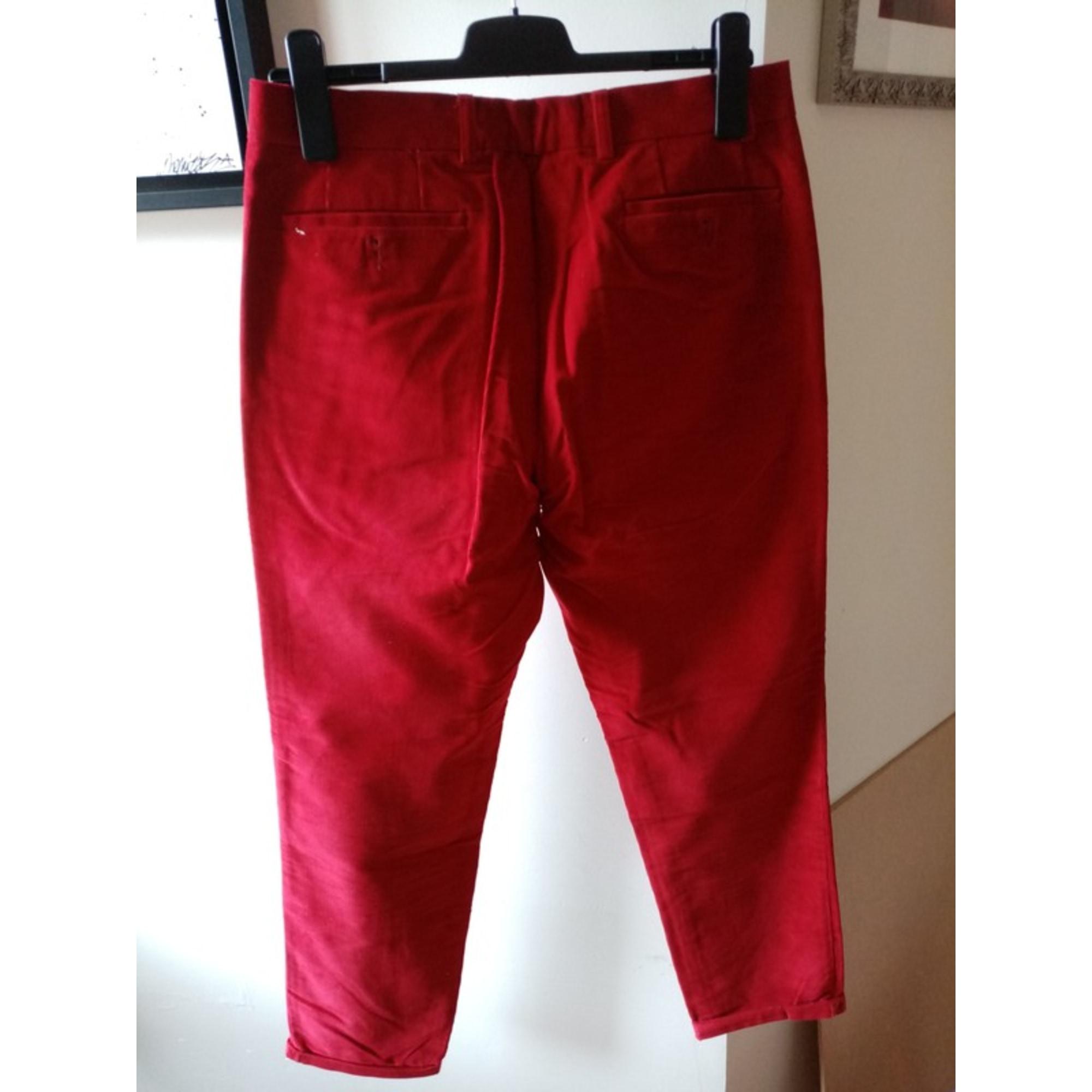 Pantalon droit VICOMTE A. framboise